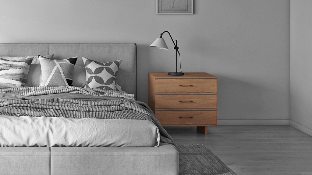 Modern Series 252 Nightstand in a California bedroom