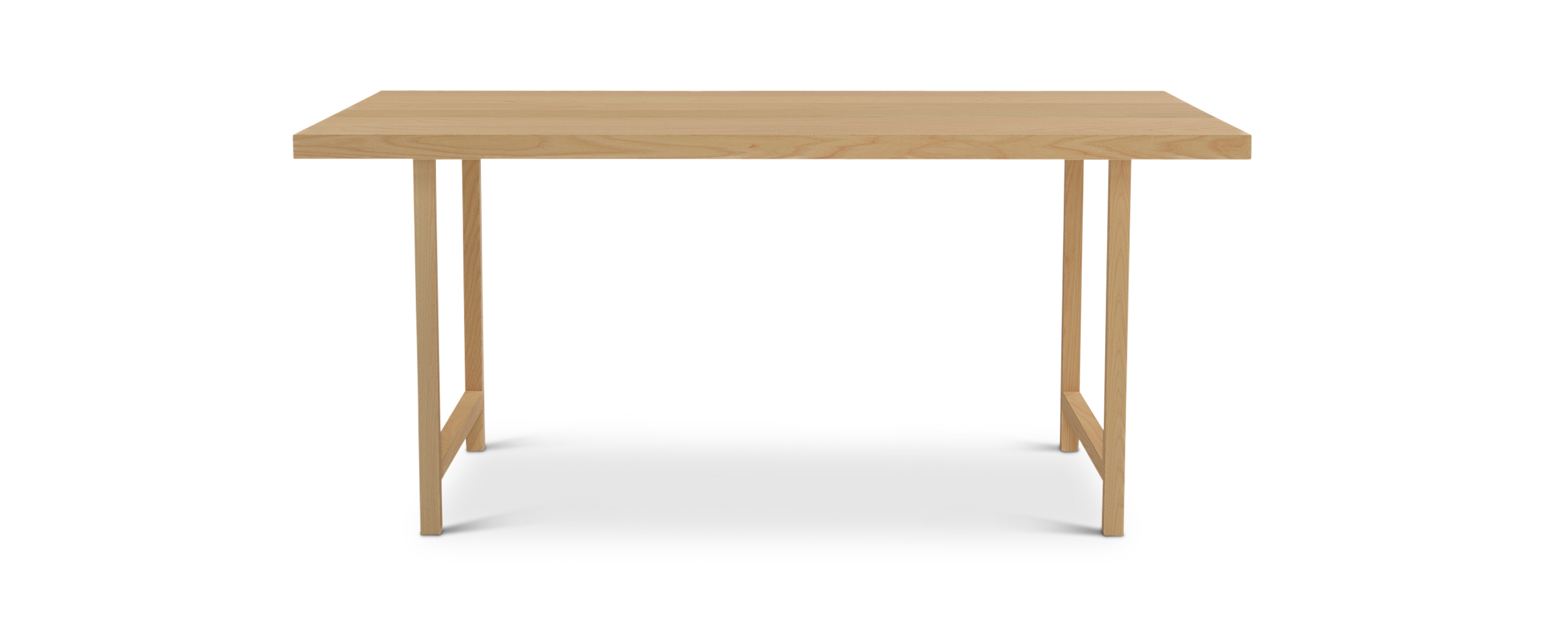 "Series 171 66"" Minimalist Nordic Furniture ash dining table"