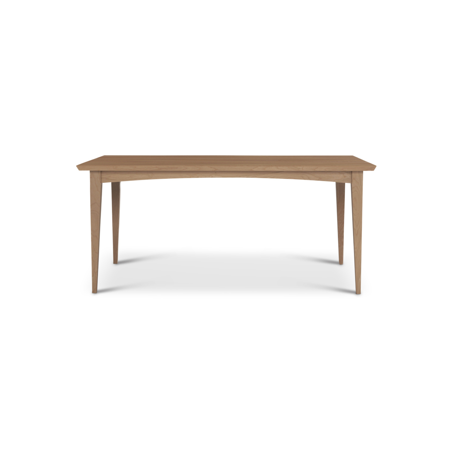 """66"""" Solid Cherry mid-century modern table"""