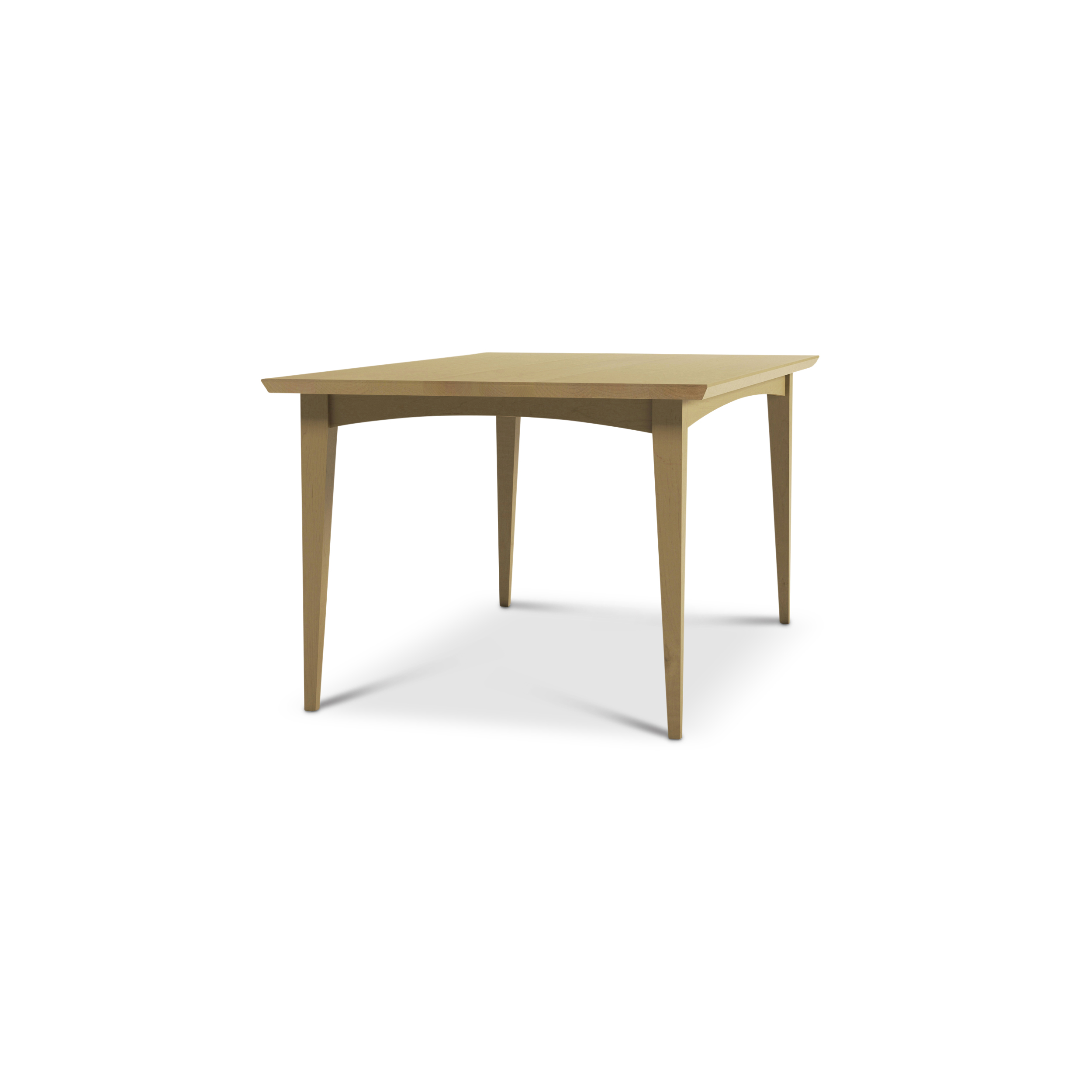 Maple Dining Room Table With Solid Wood Legs