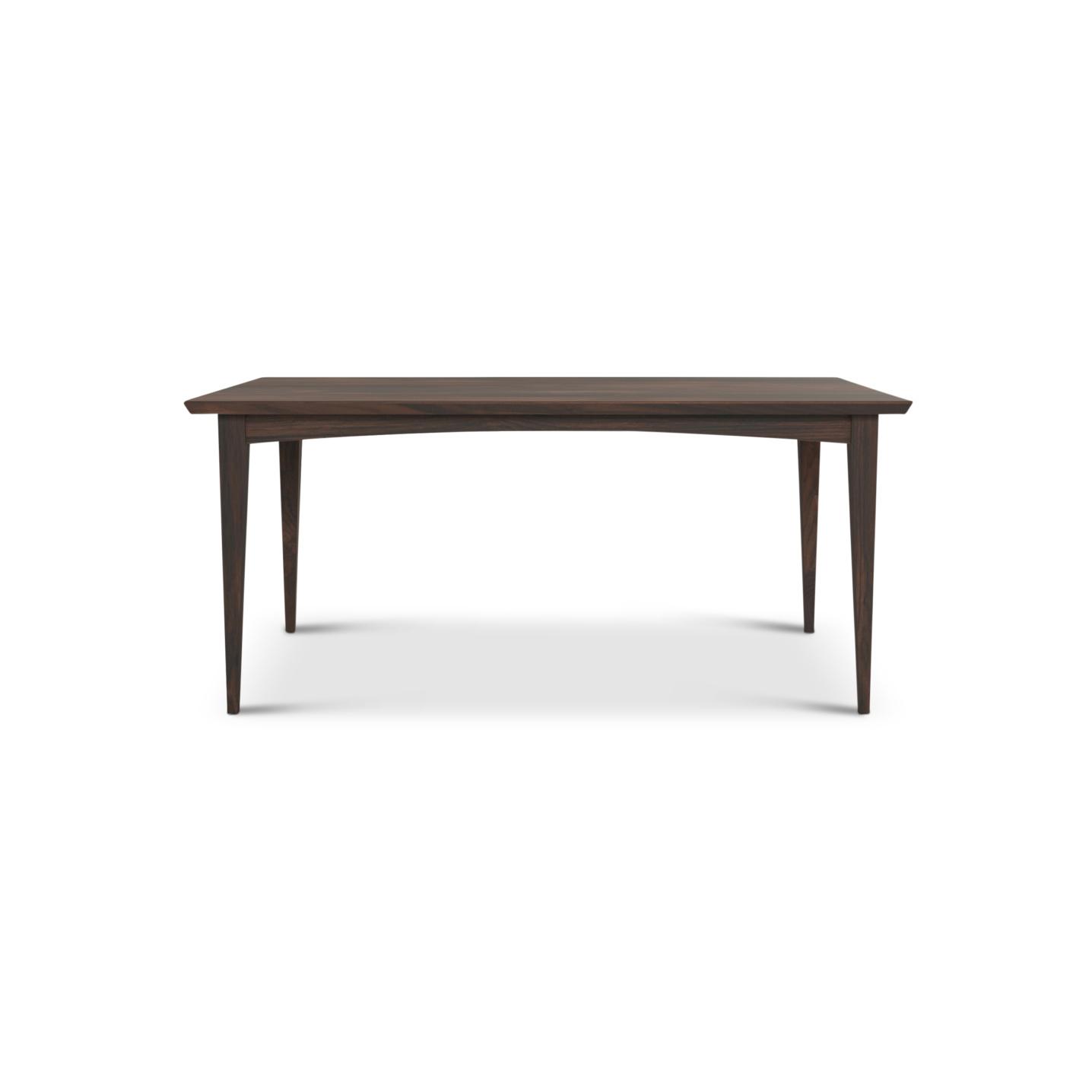"""walnut 66"""" mid-century modern table"""
