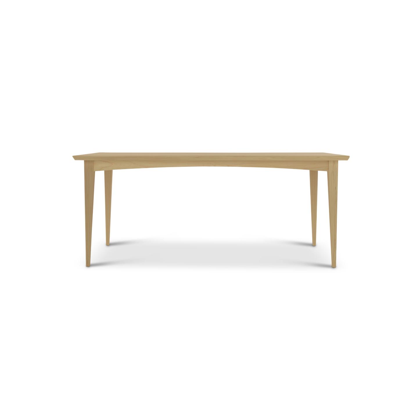 6 foot ash mid-century modern table