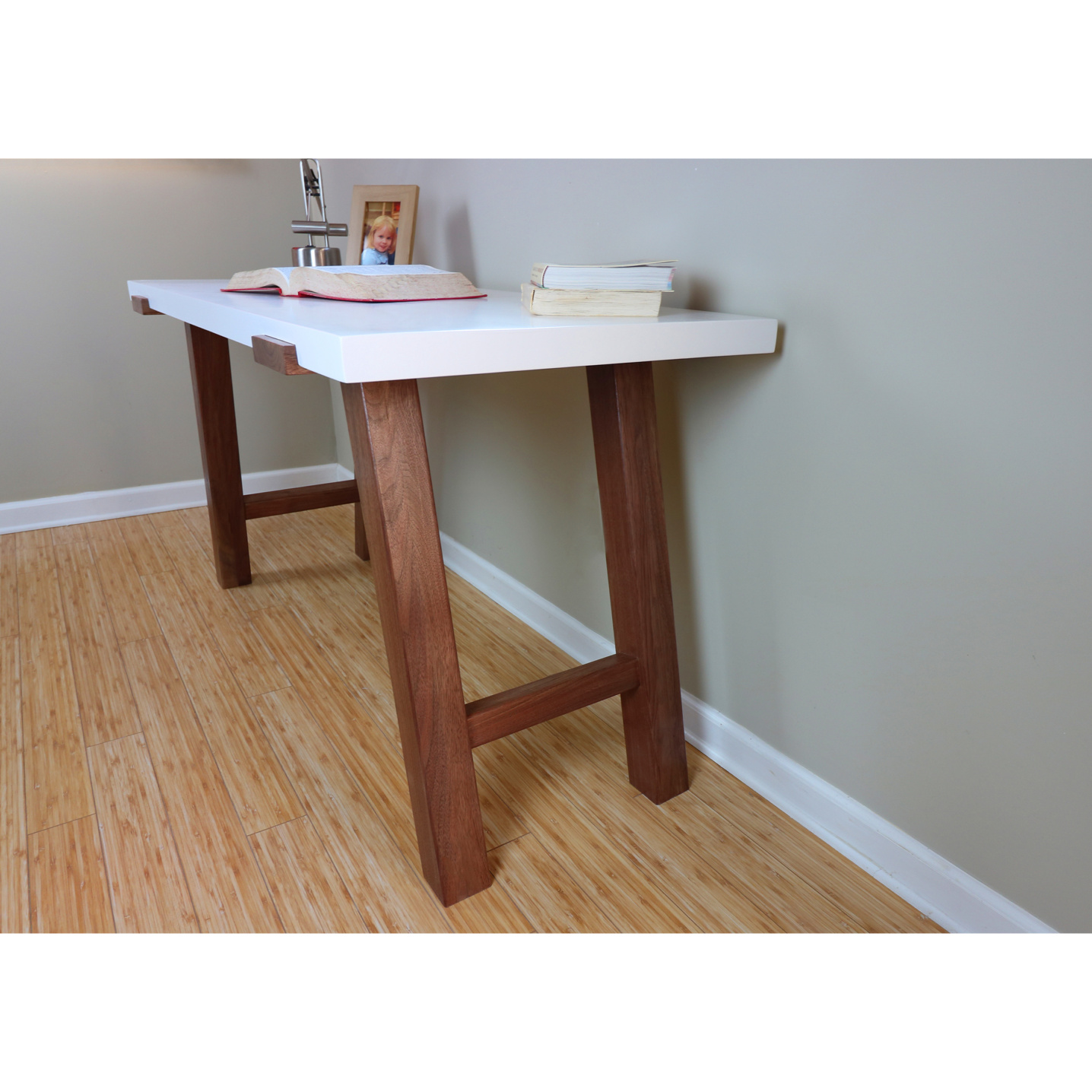 Pulten danish desk with a maple top
