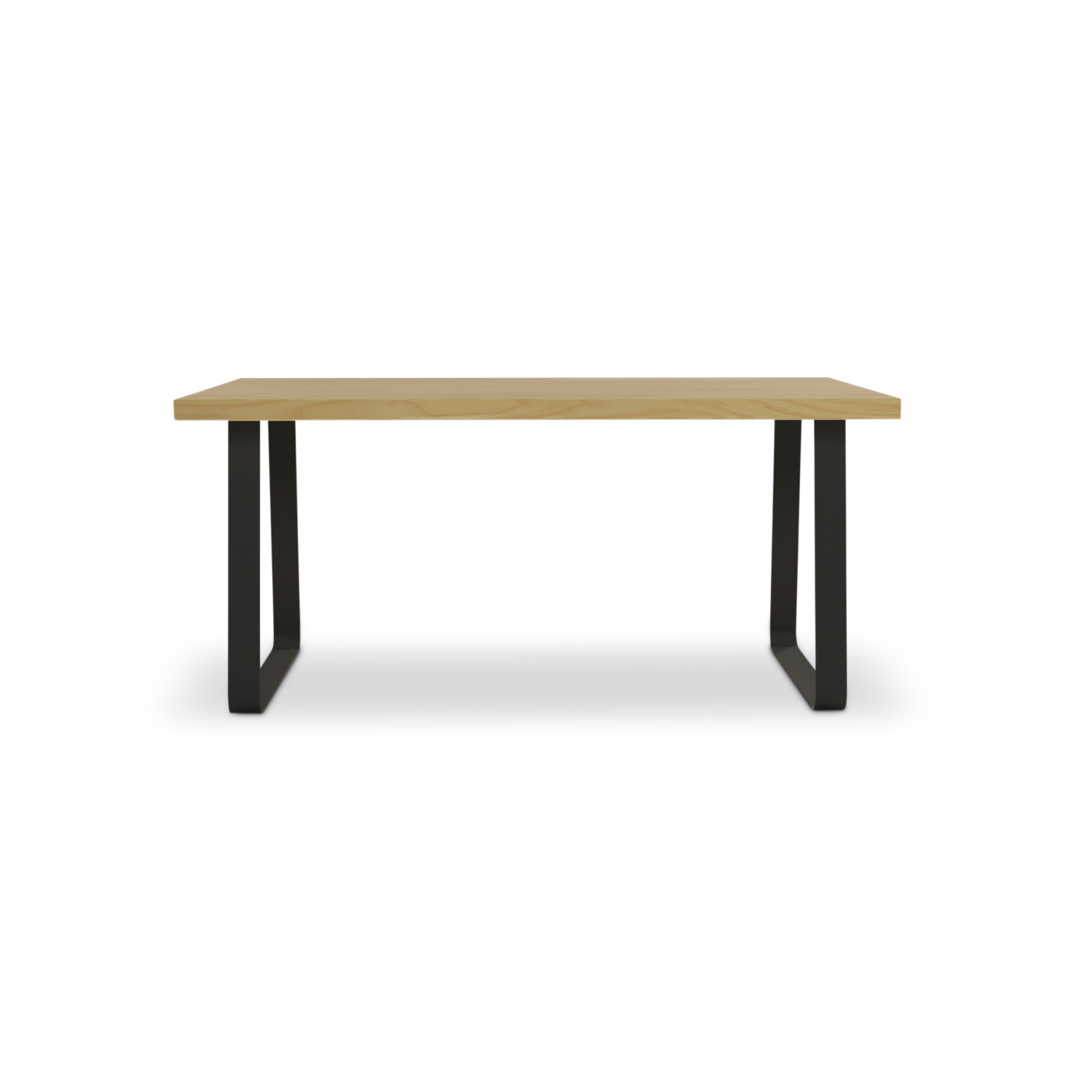Thick ash planked table
