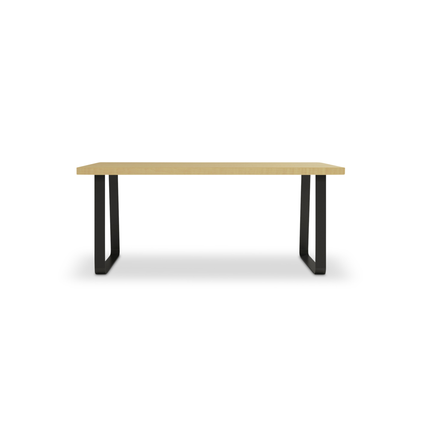 Dinning room table with solid ash top