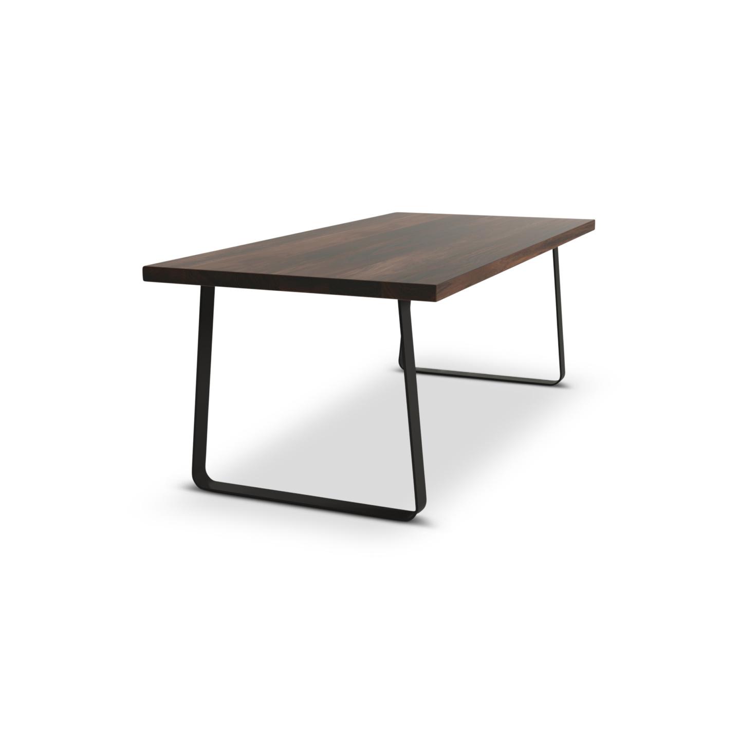 """Jern 84""""Solid Walnut Jern danish table"""