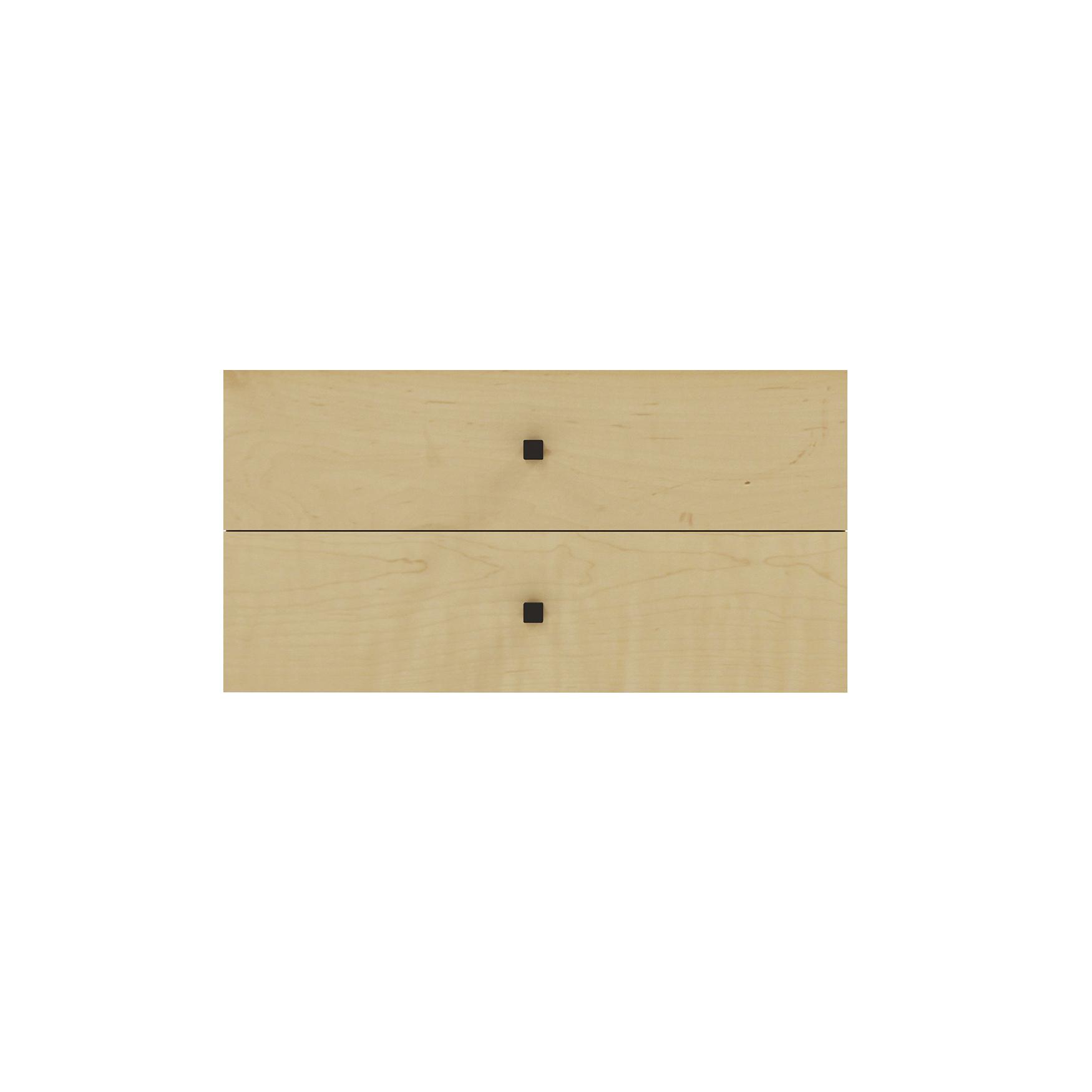 FlexModerne 24″ Wide Stacked Drawers