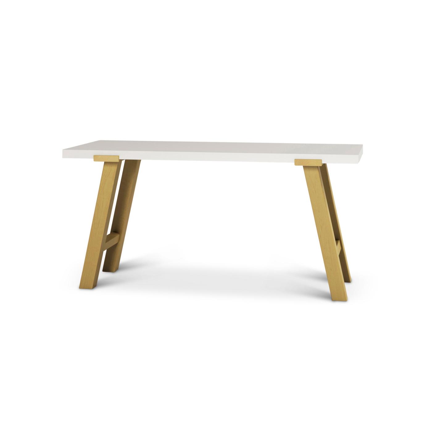 Norwegian maple desk with solid wood top