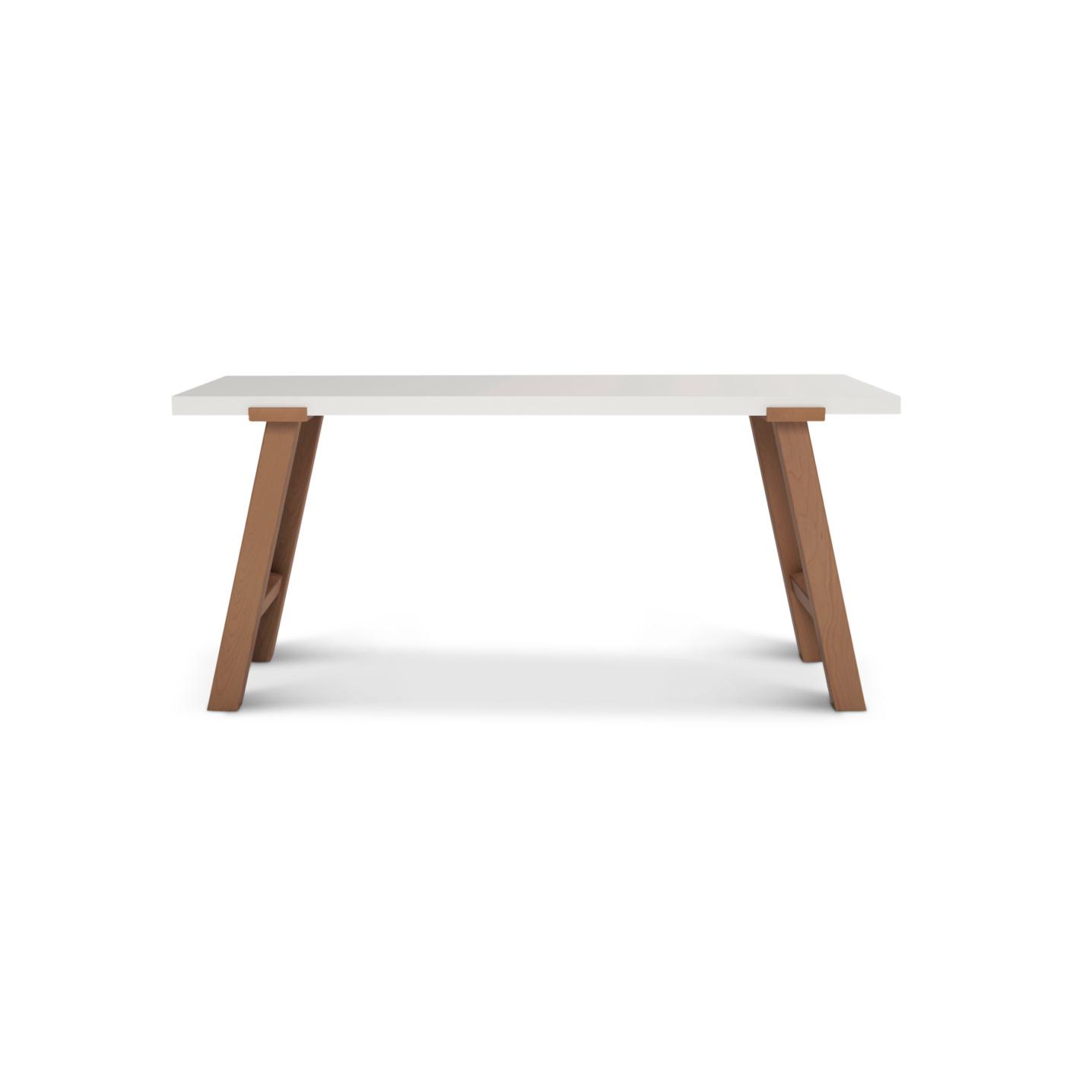 Custom desk with cherry legs