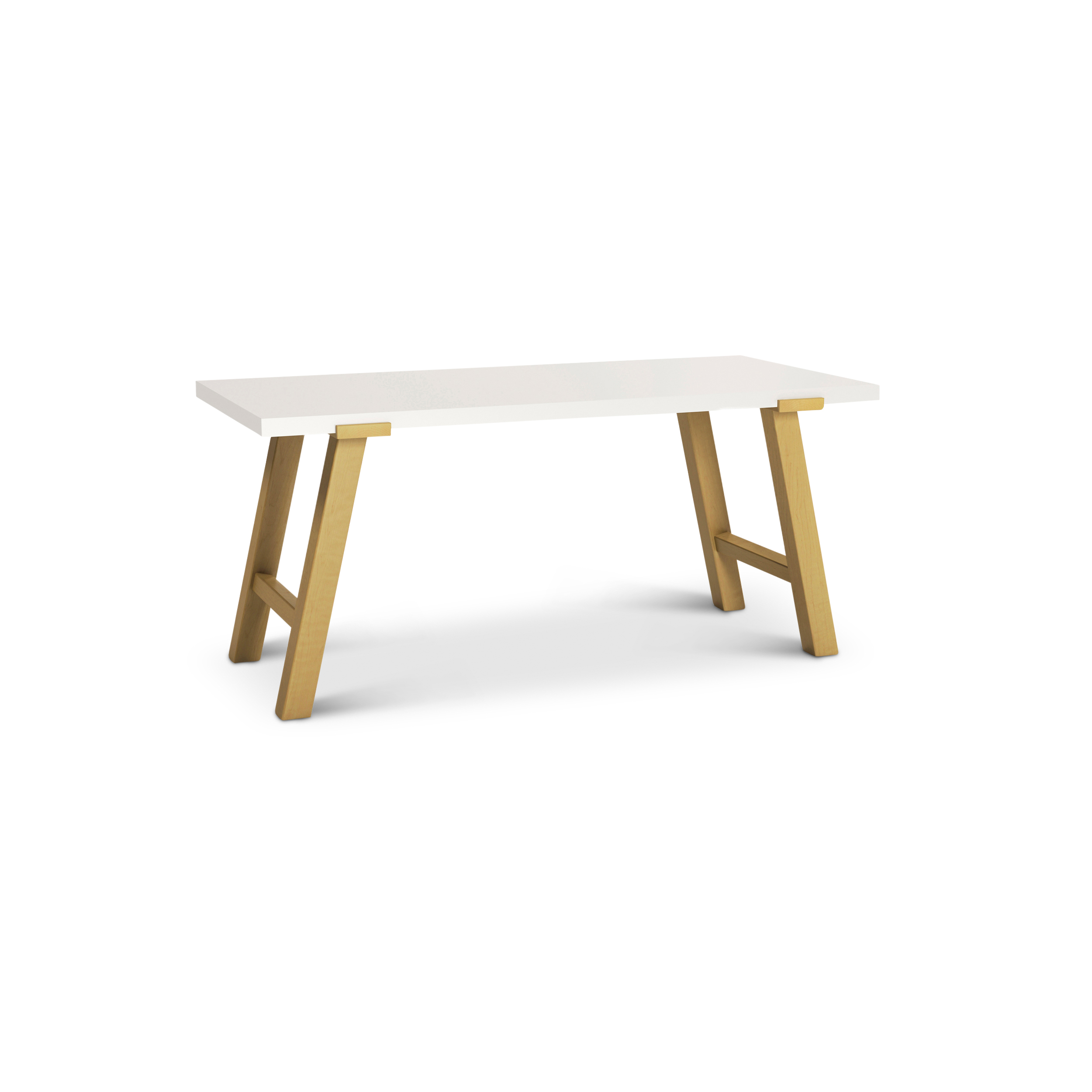 Modern Pulten Desk With Maple Legs And Top