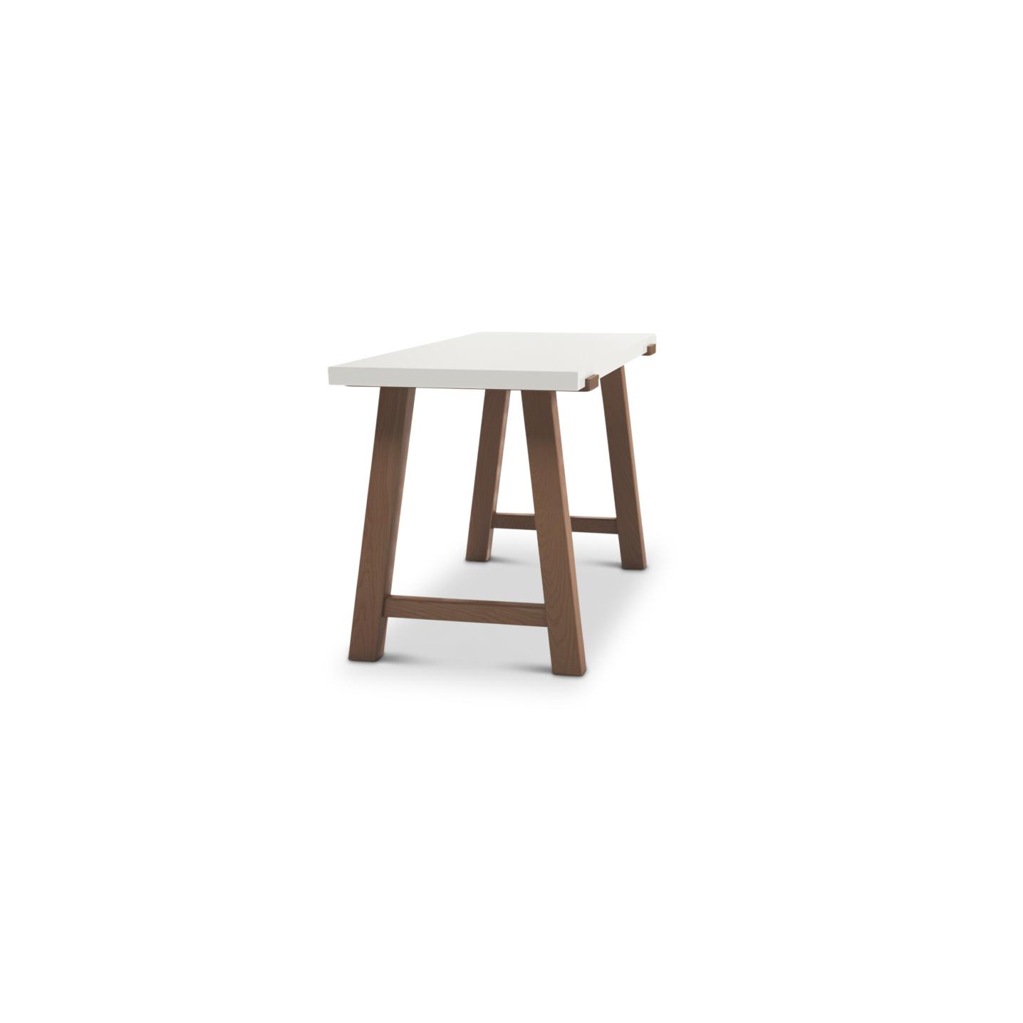 Design-oriented cherry modern desk