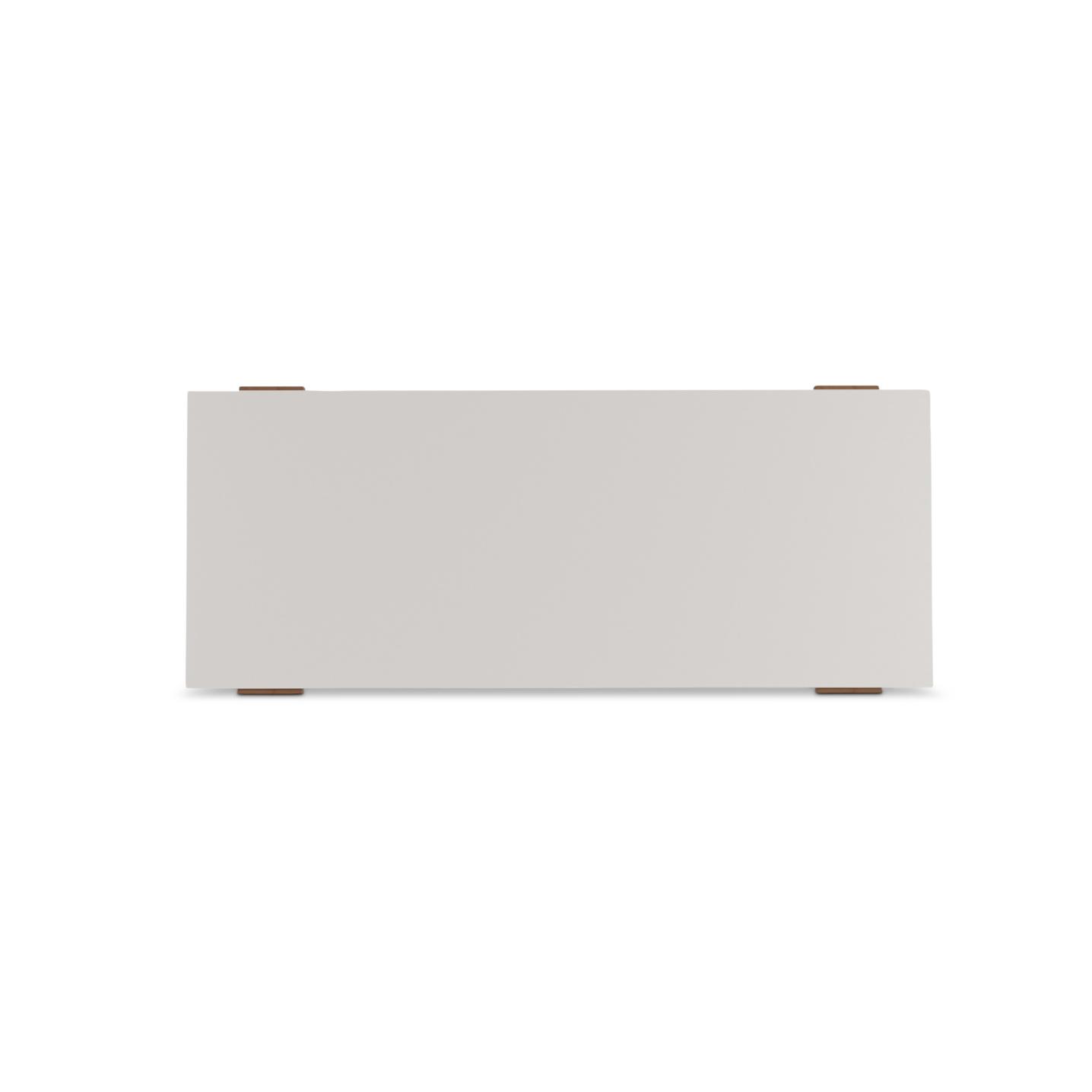 """60"""" white lacquered desk top"""