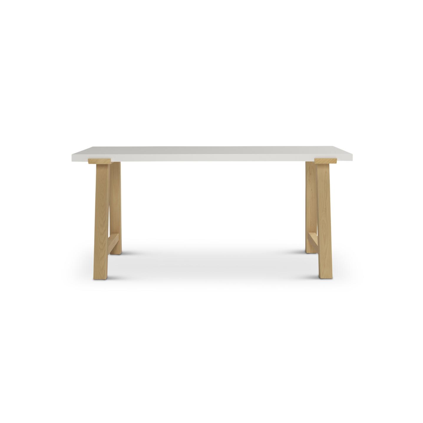 """Pulten.2 66"""" long ash desk"""