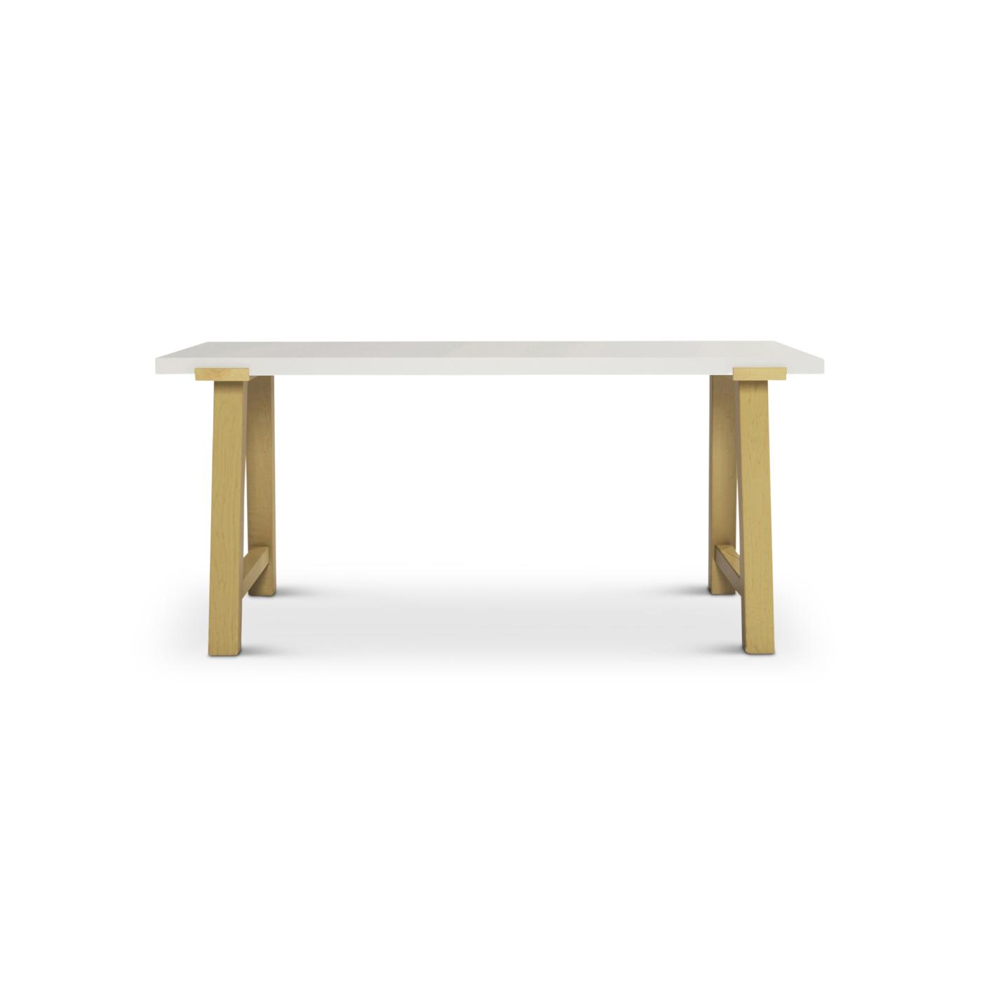 Custom maple Putlen desk