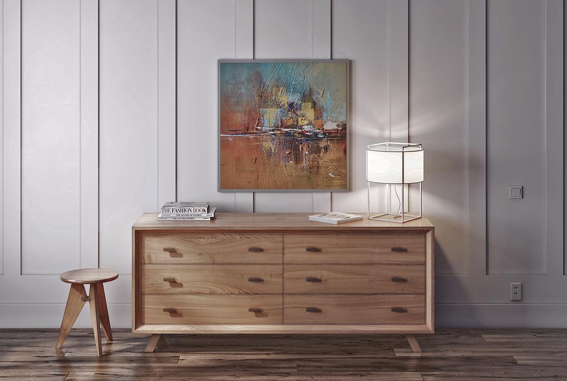 Series 555 wooden dresser