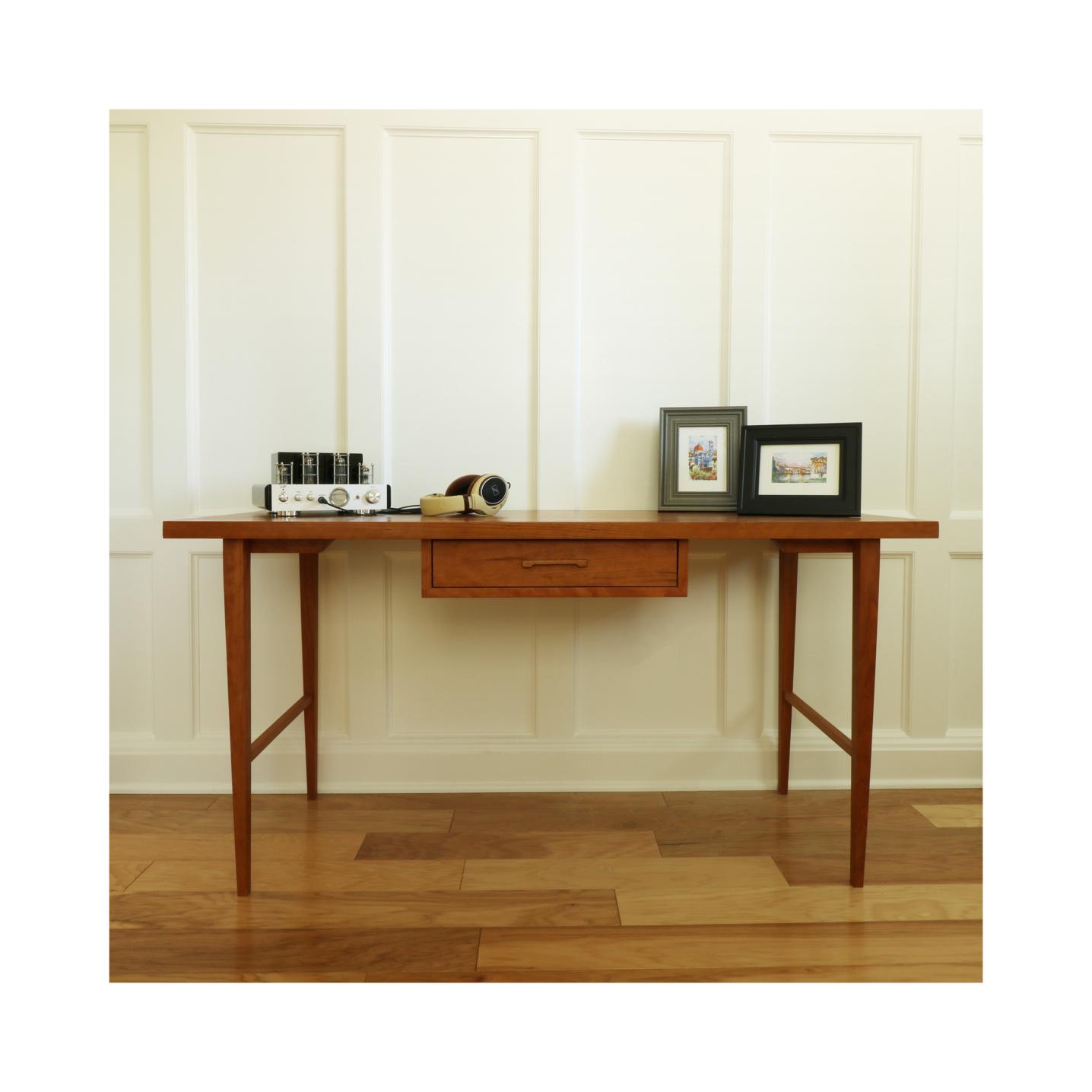 Mid Century Modern cherry desk