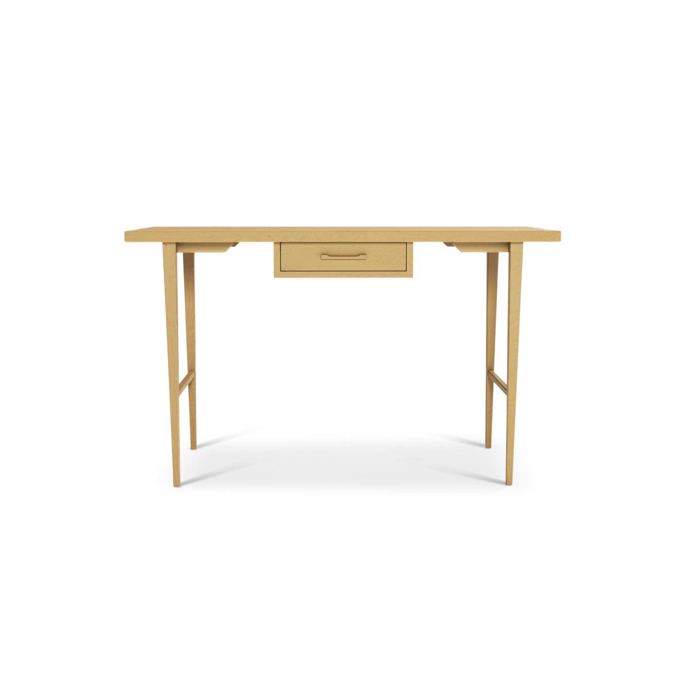 Solid maple Custom wood desk