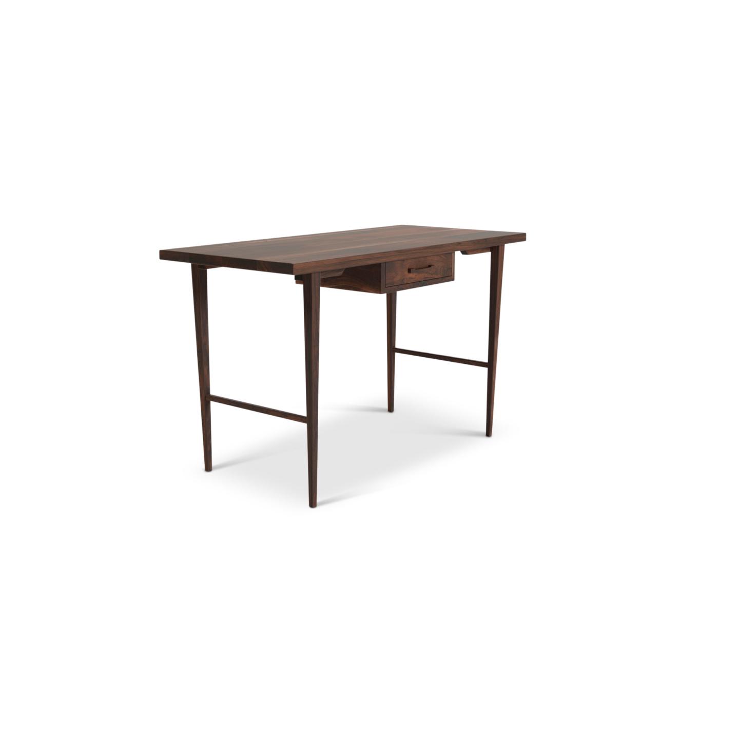"48"" Walnut Danish Desk"
