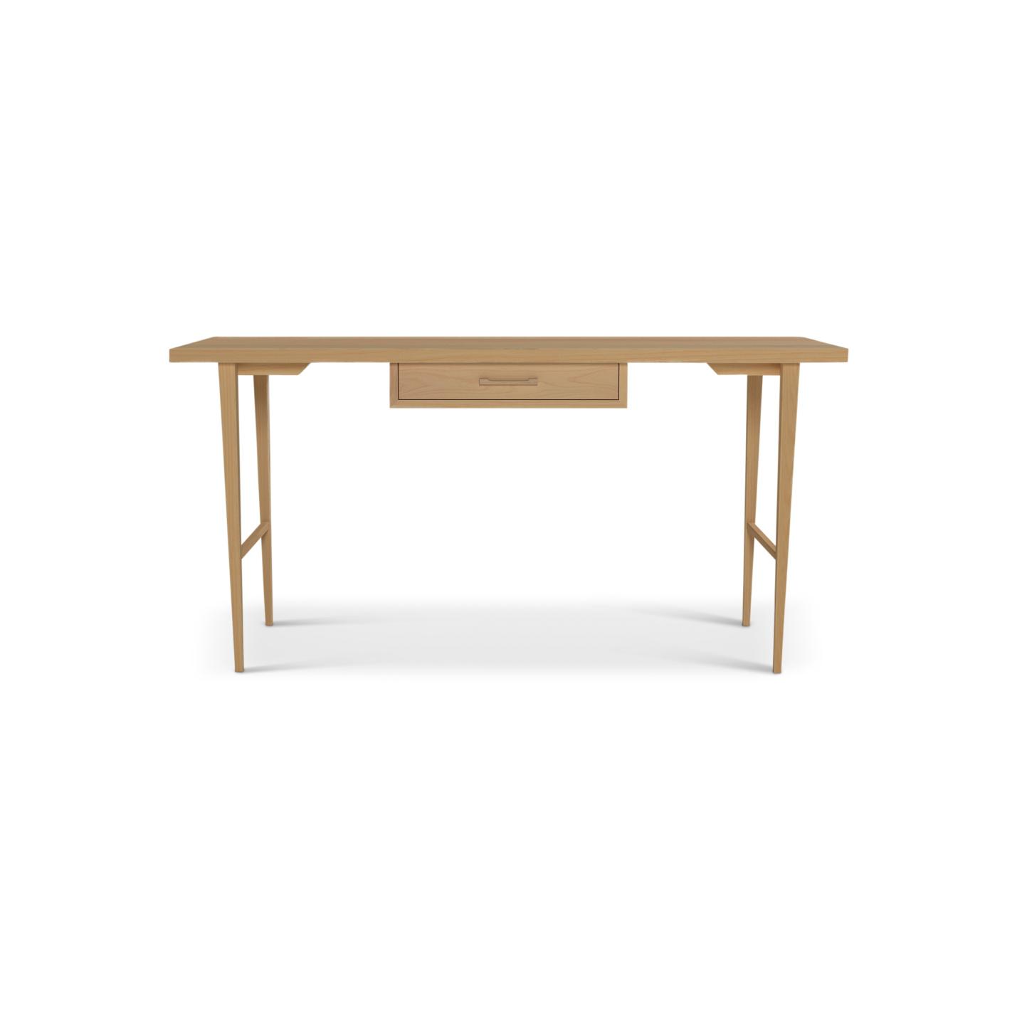 Solid Ash Desk
