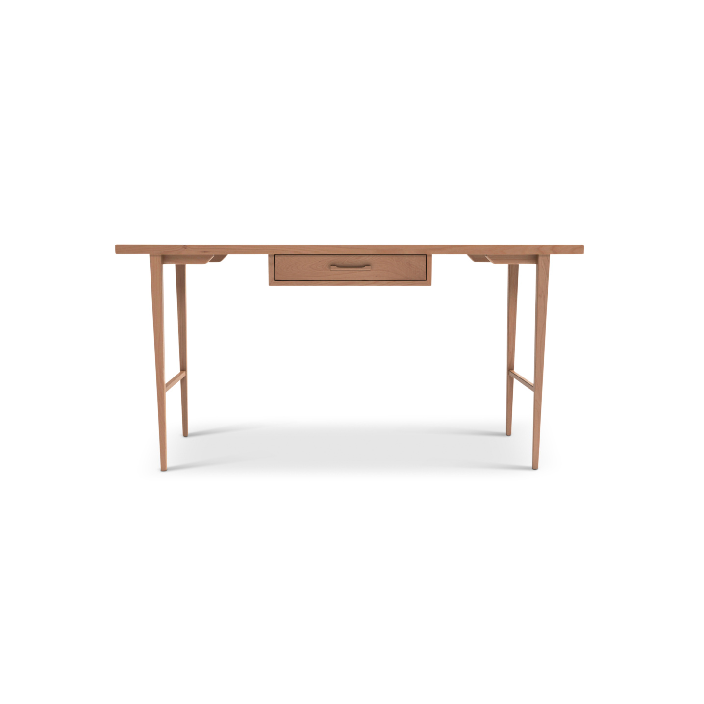 Contemporary cherry desk