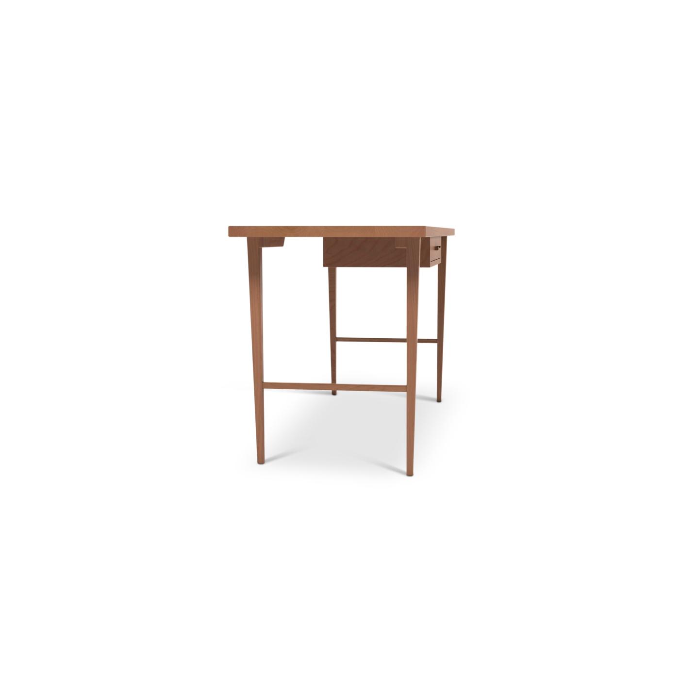 Cherry solid wood desk