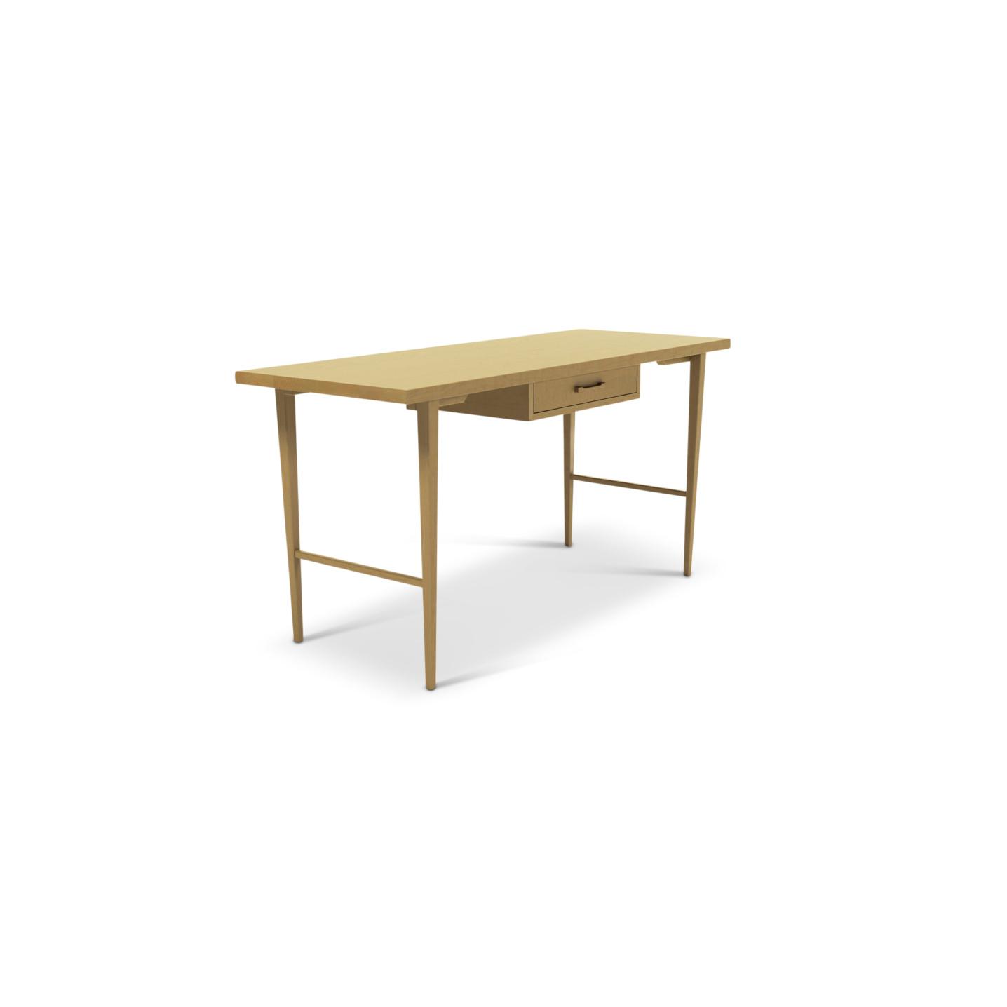 Maple Scandinavian desk