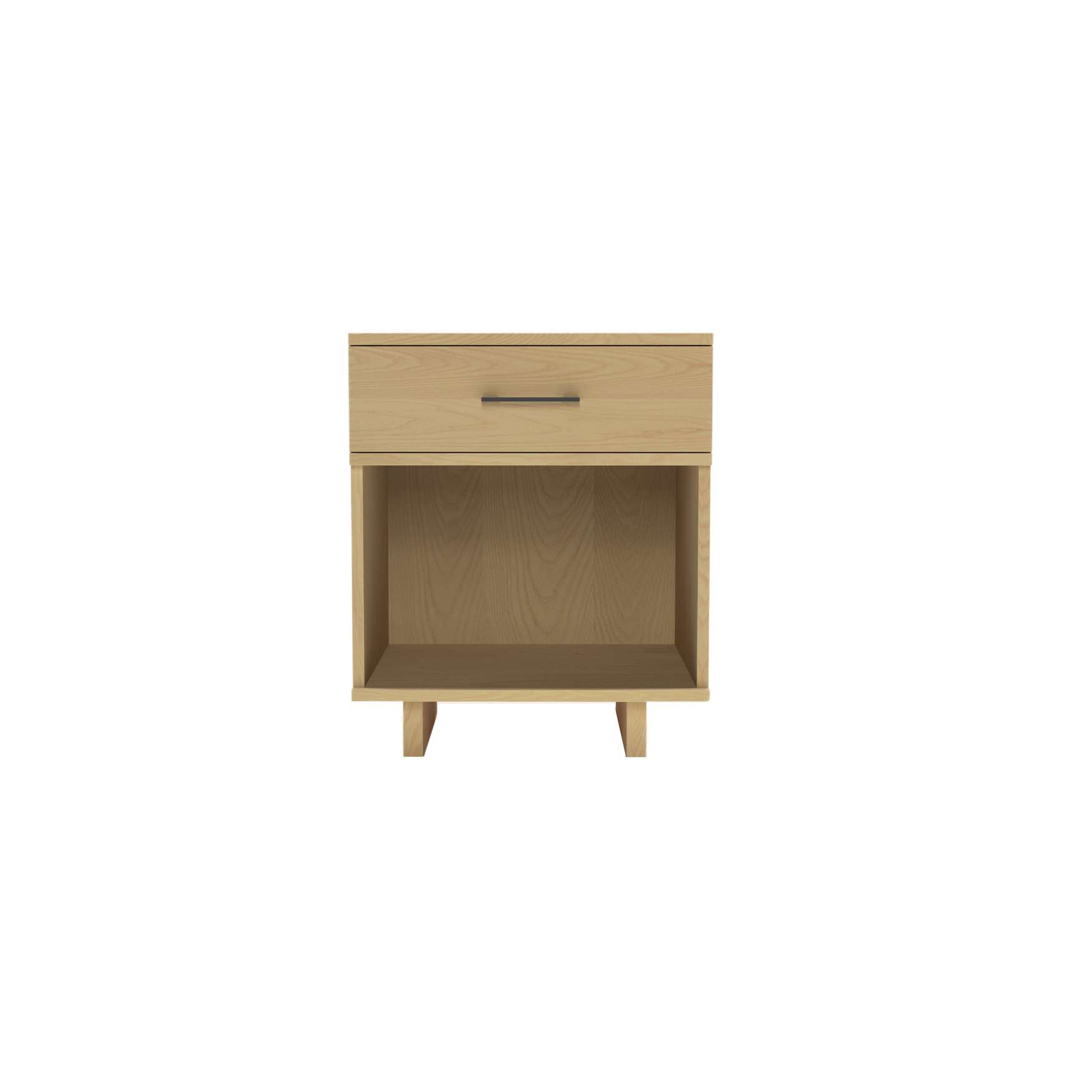 Series 252 Small Bedside Table – Ash