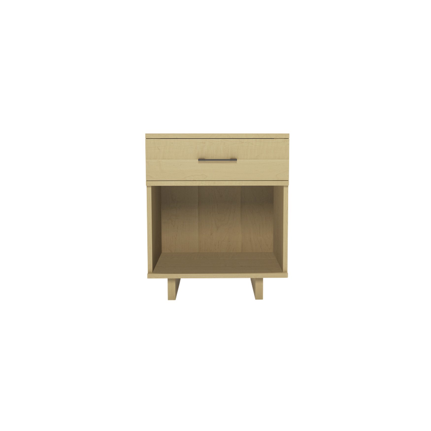 Series 252 Small Bedside Table – Maple