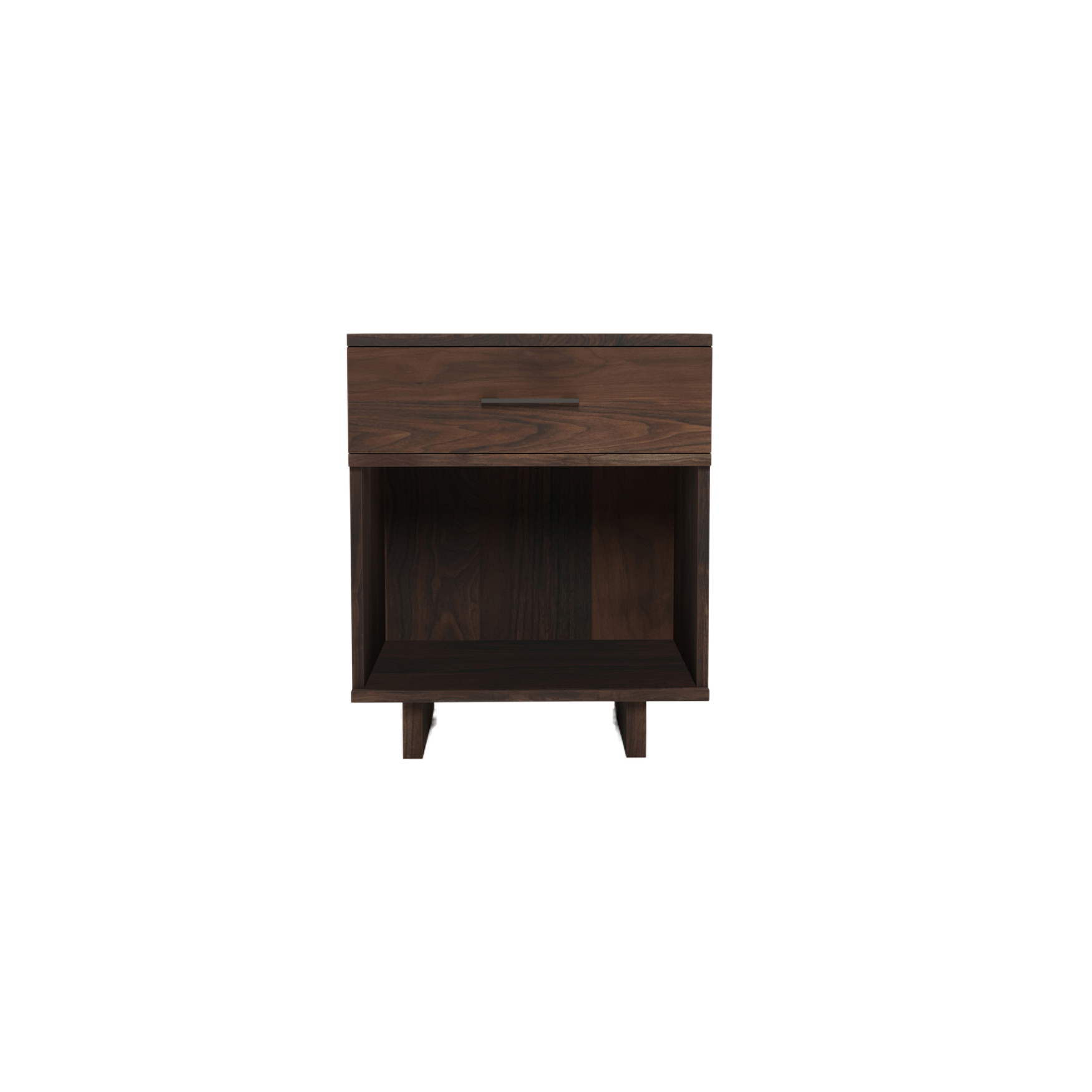Series 252 Small Bedside Table – Walnut