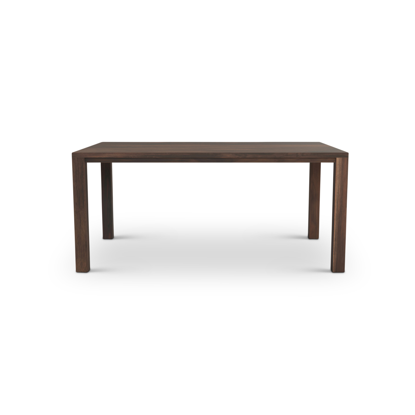 Solid Walnut Table with square legs