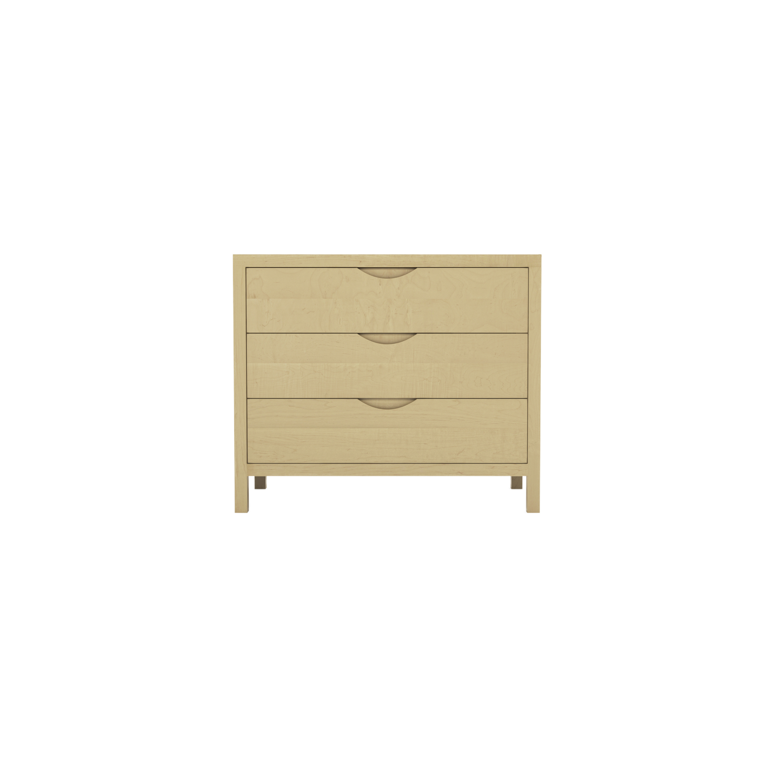 Series 353 Dresser With Three Drawers At 36″ In Width