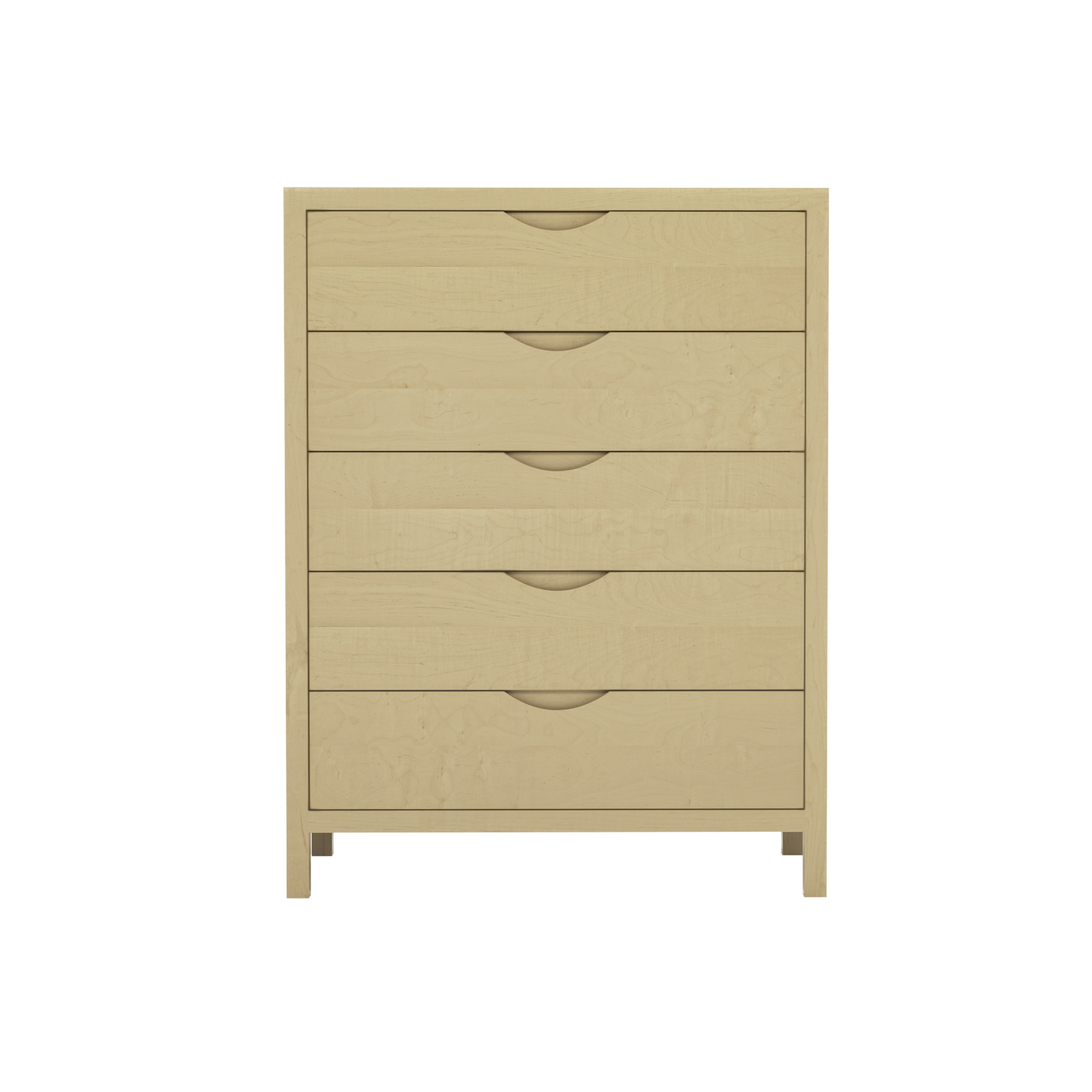 Series 353 Tall Dresser With Five Drawers At 36″ In Width