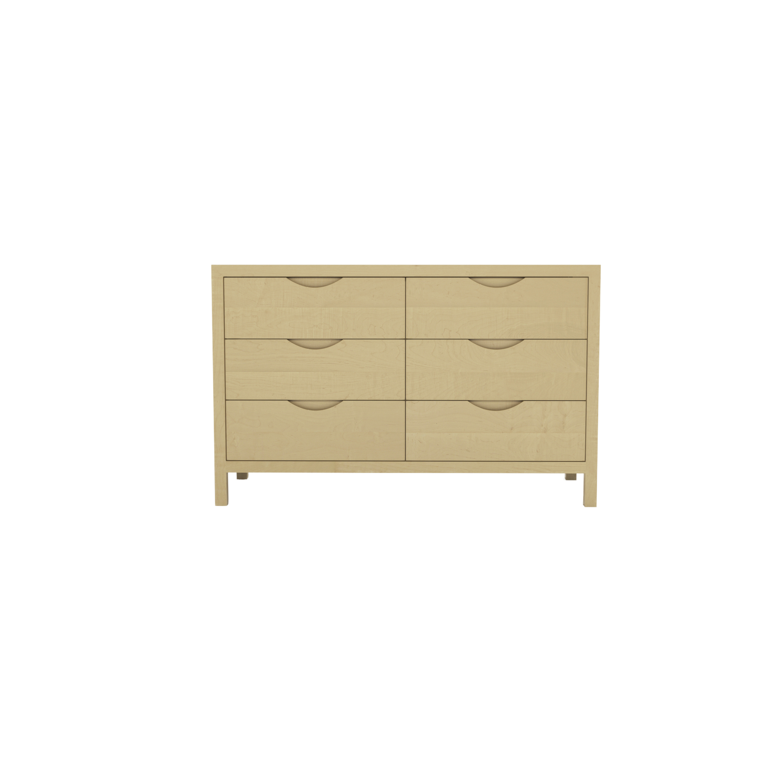 Series 353 Dresser With Six Drawers At 48″ In Width