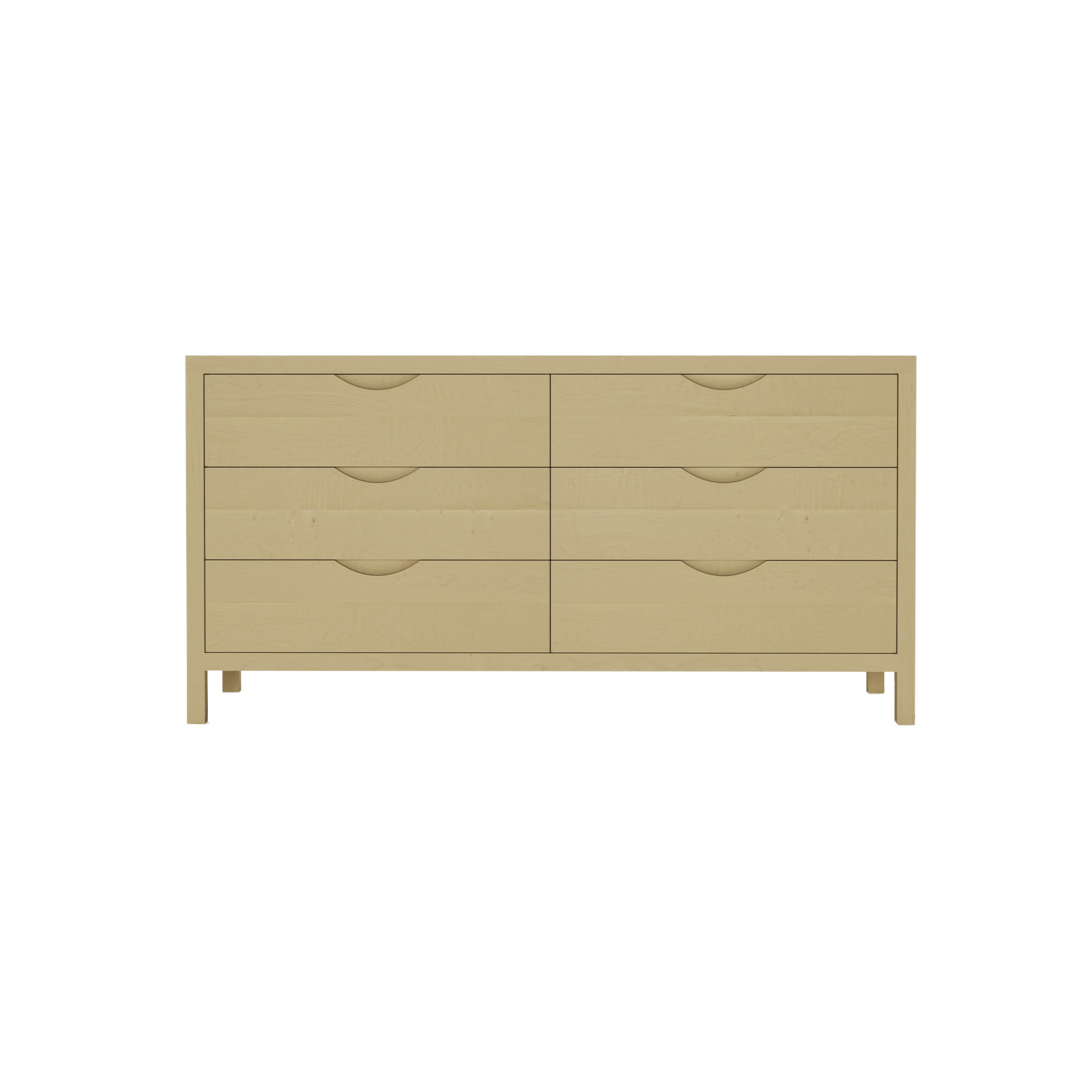 Series 353 Dresser With Six Drawers At 60″ In Width