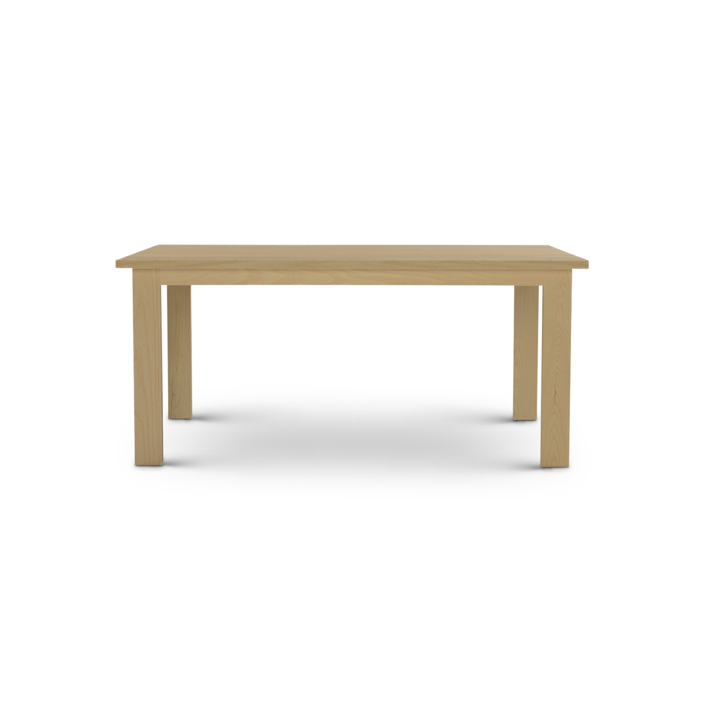 Solid Ash Nordic Table made in the Midwest