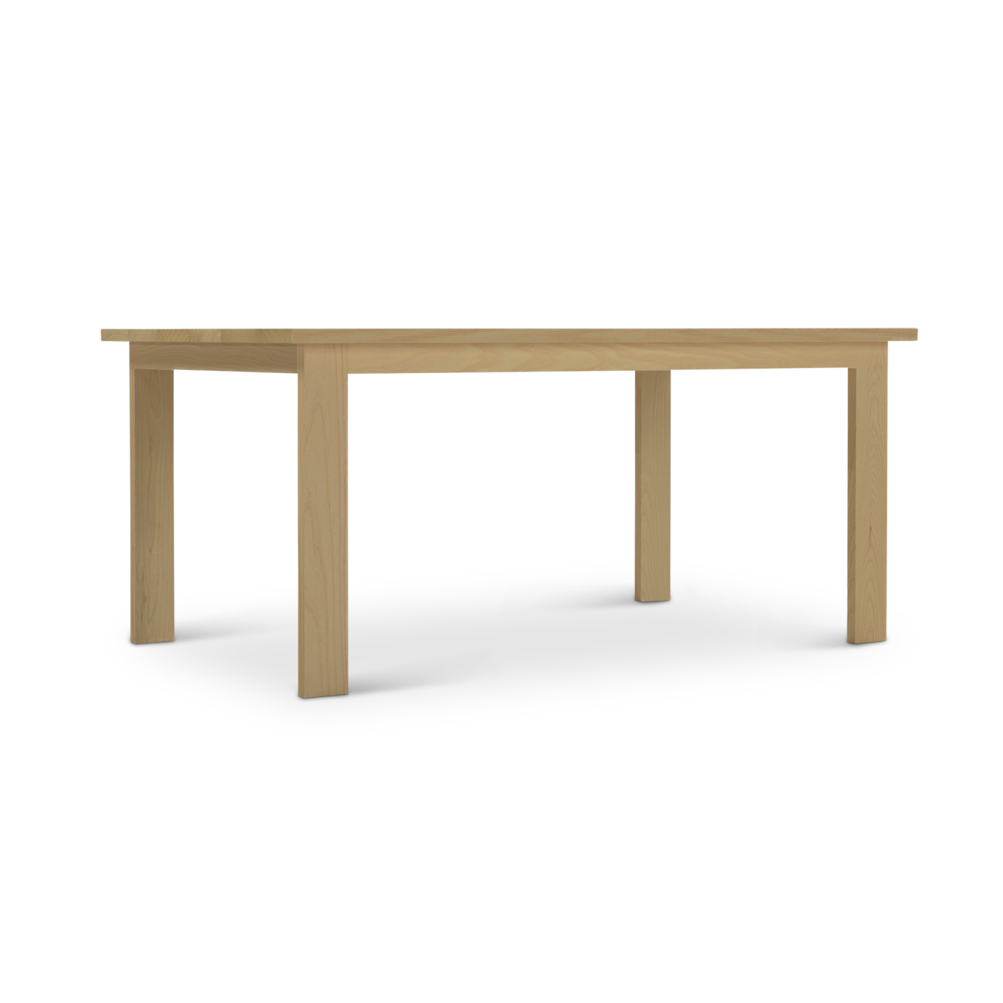 Solid Ash kitchen table made in Ohio