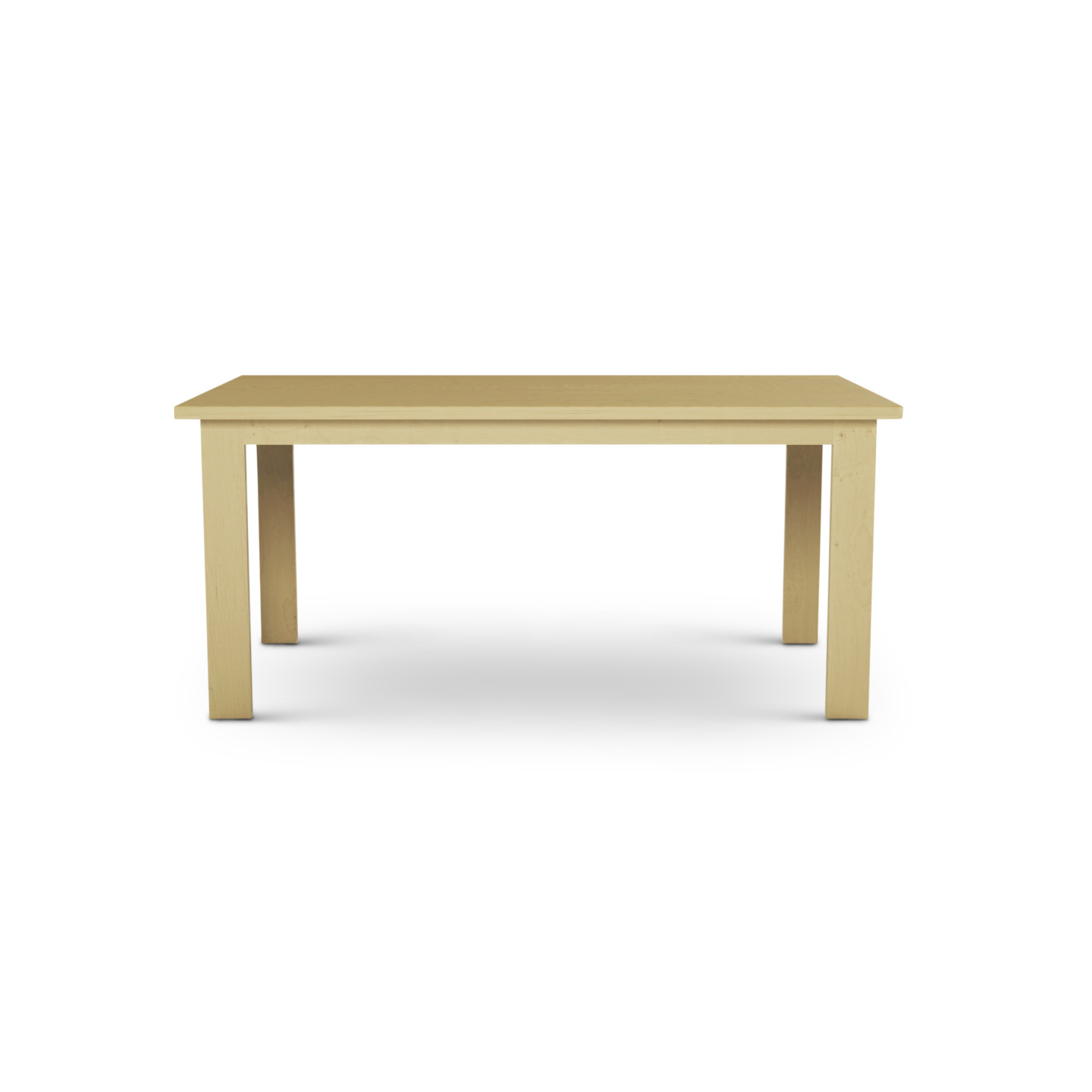 Domestically made solid maple table