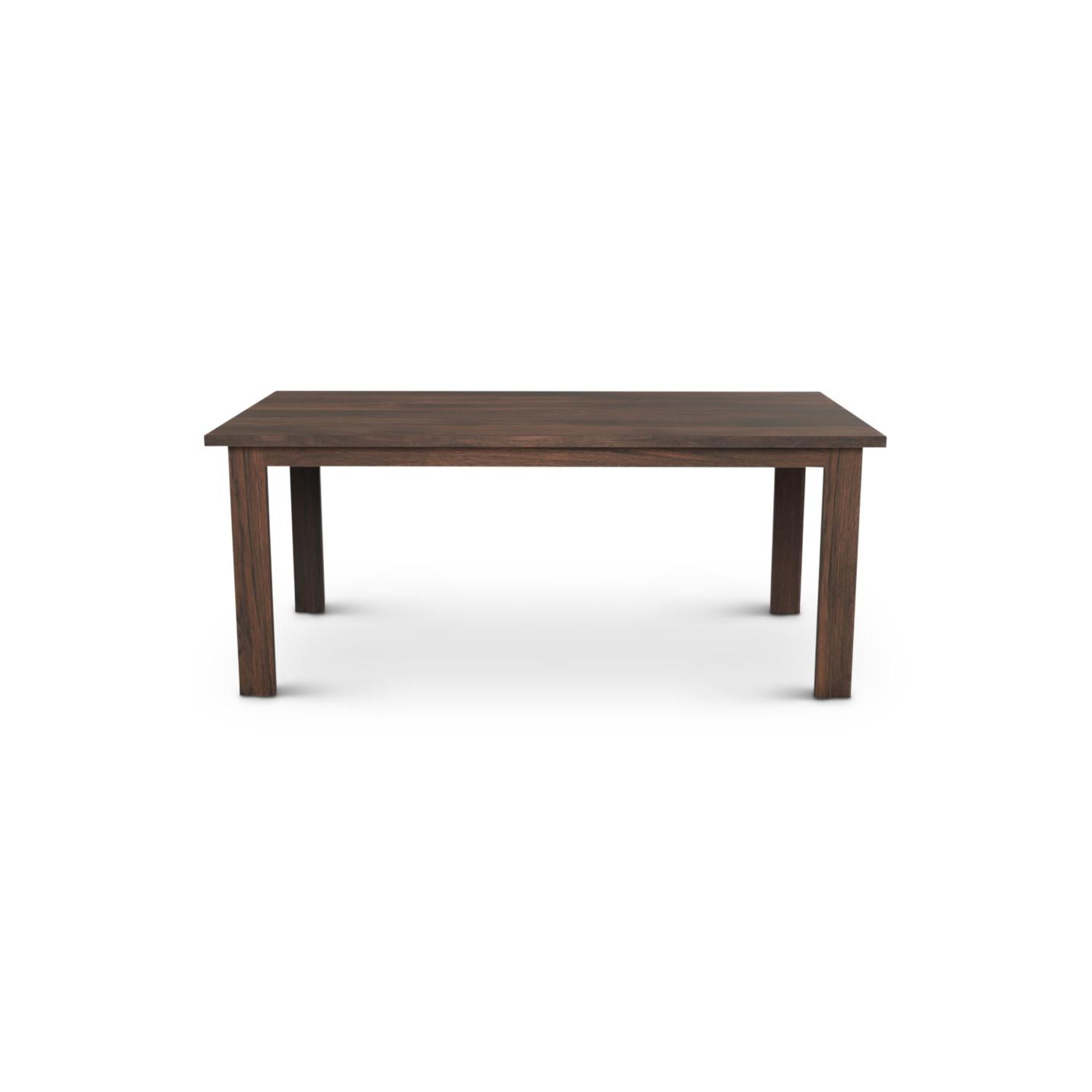 Walnut wood Table with rectangular legs
