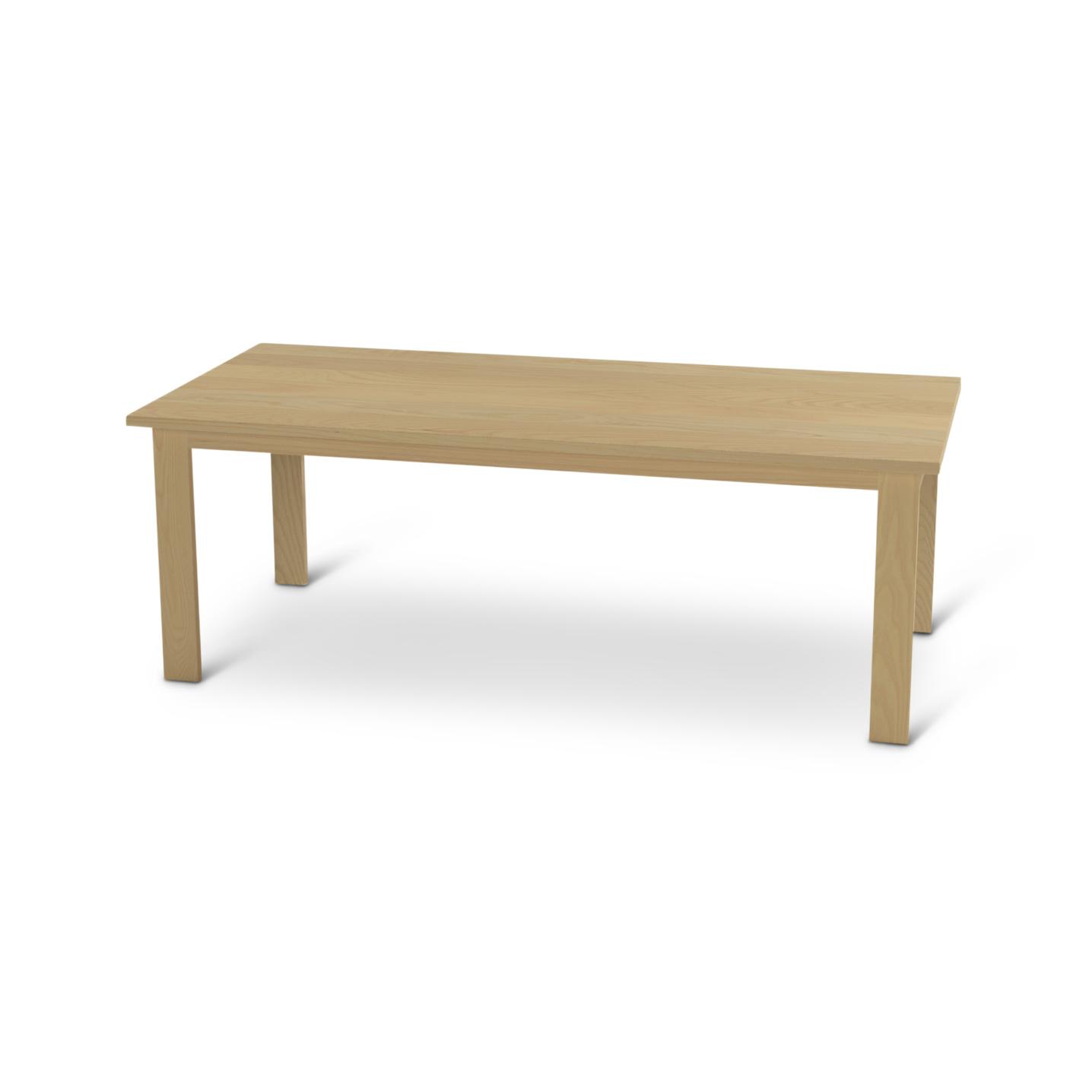 Solid Ash Scandinavian Dining Room Table