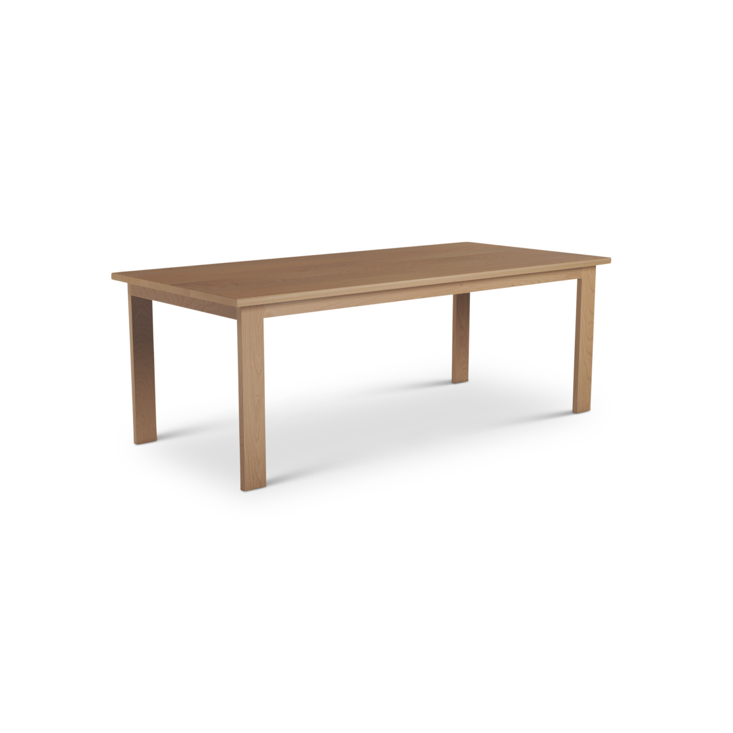 Cherry Wood Table in a Scandinavian Style