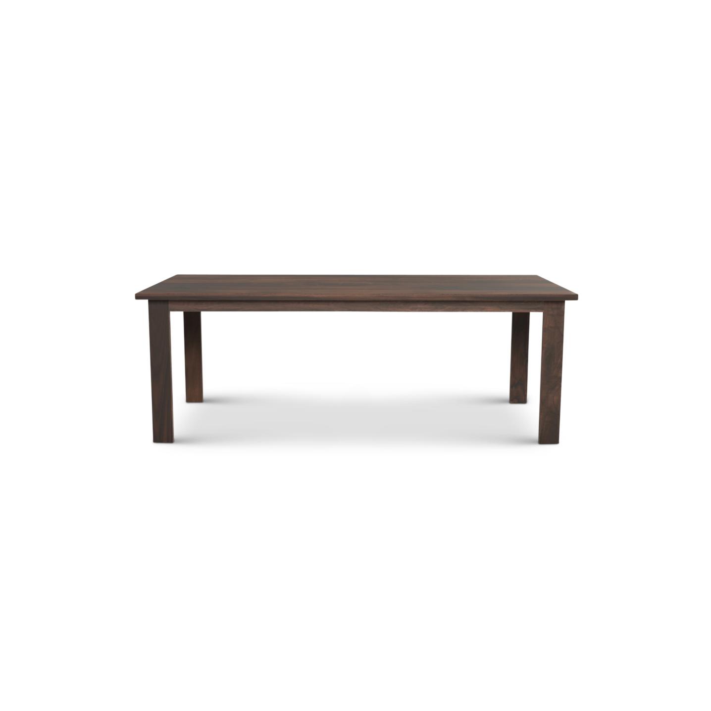 7 foot Solid Walnut table