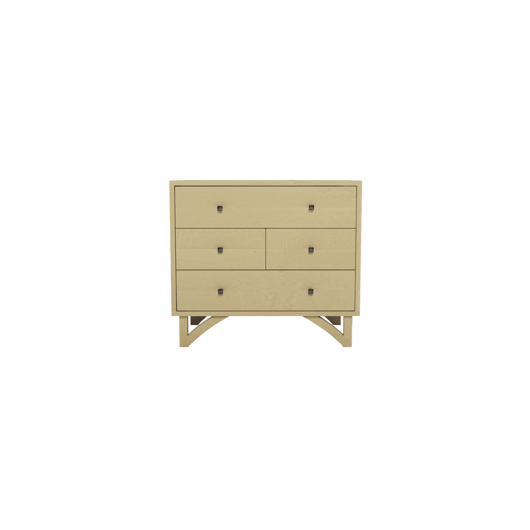 Series 454 Bedside Table With Four Drawers