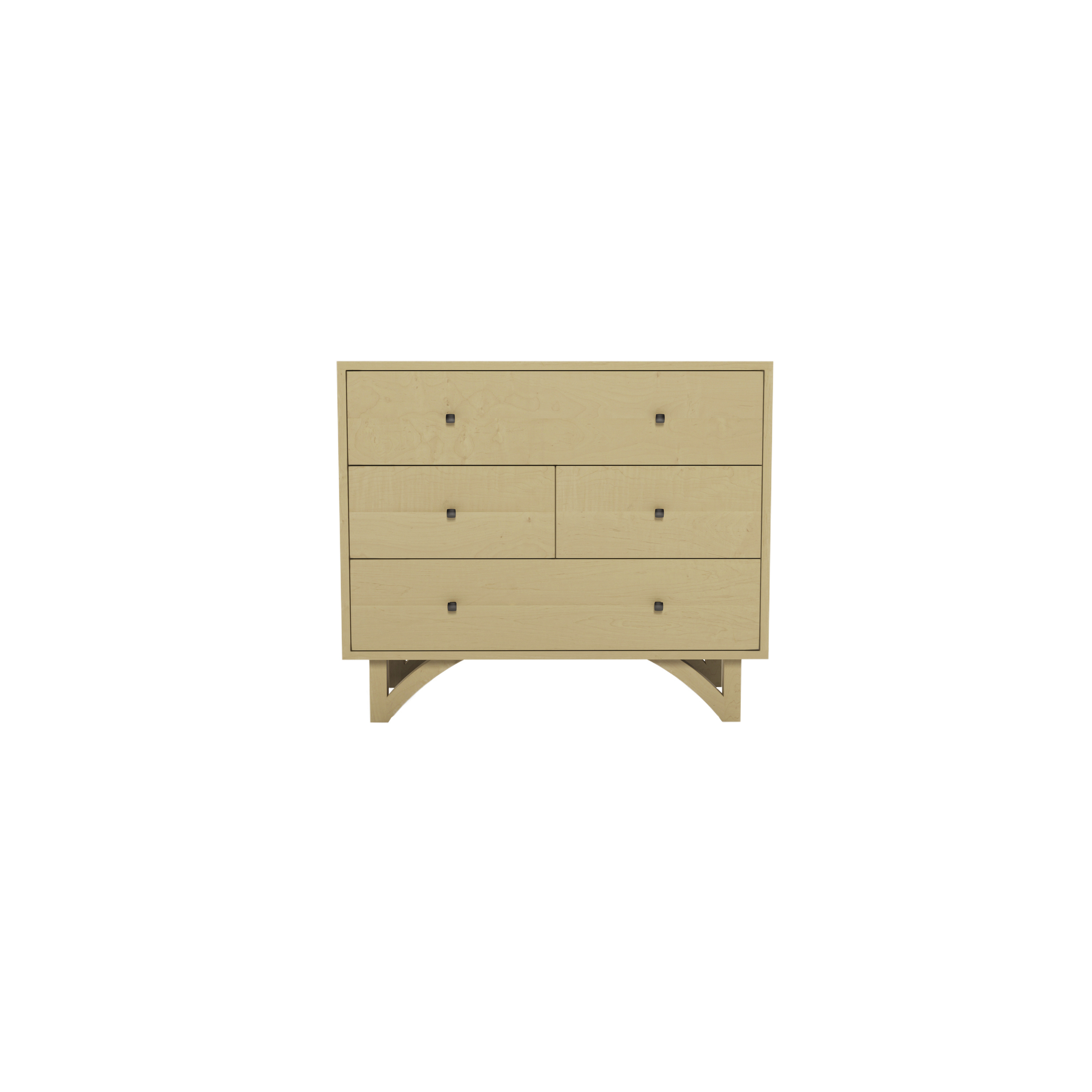 Series 454 Dresser With Four Drawers At 36″ In Width