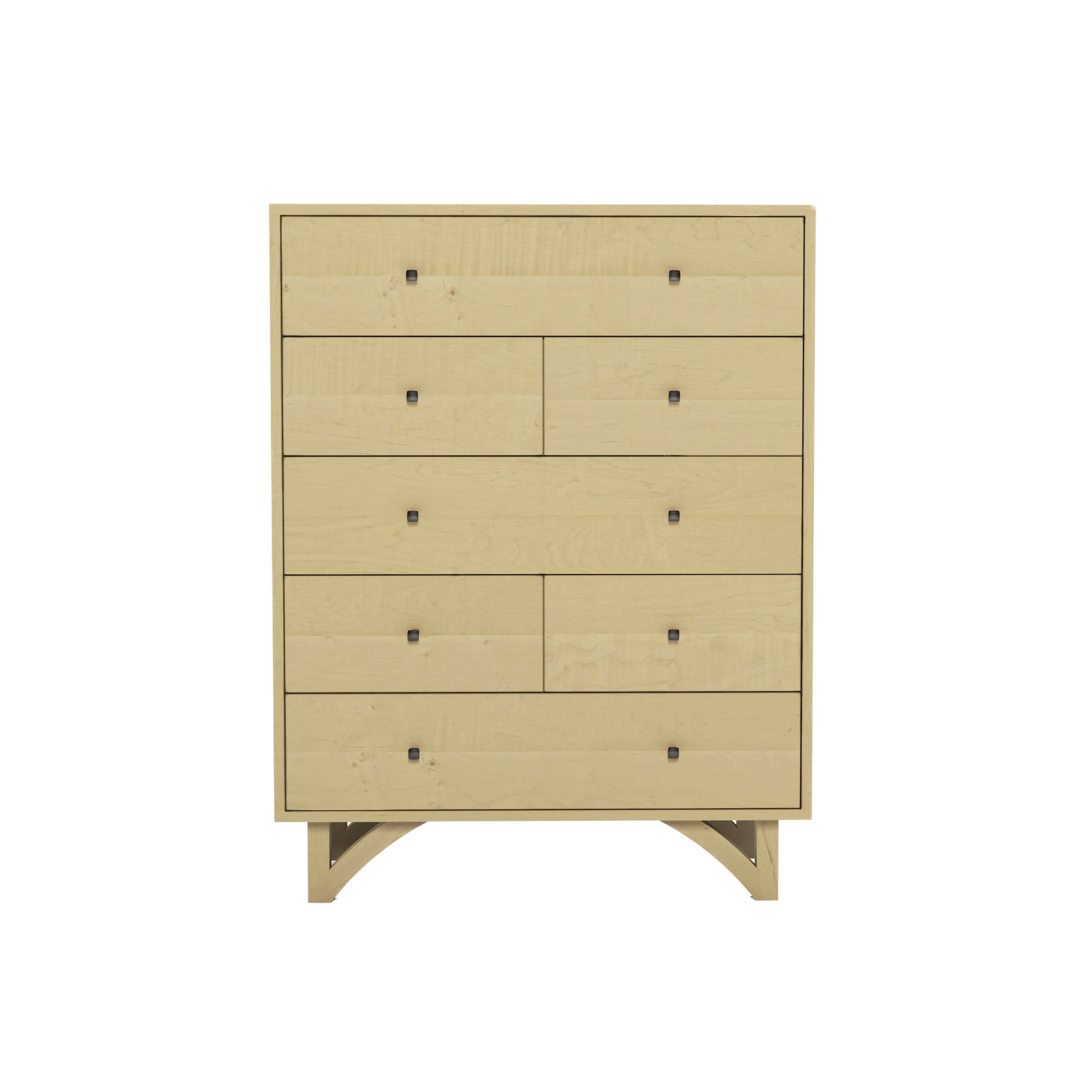 Series 454 Tall Dresser With Seven Drawers At 36″ In Width