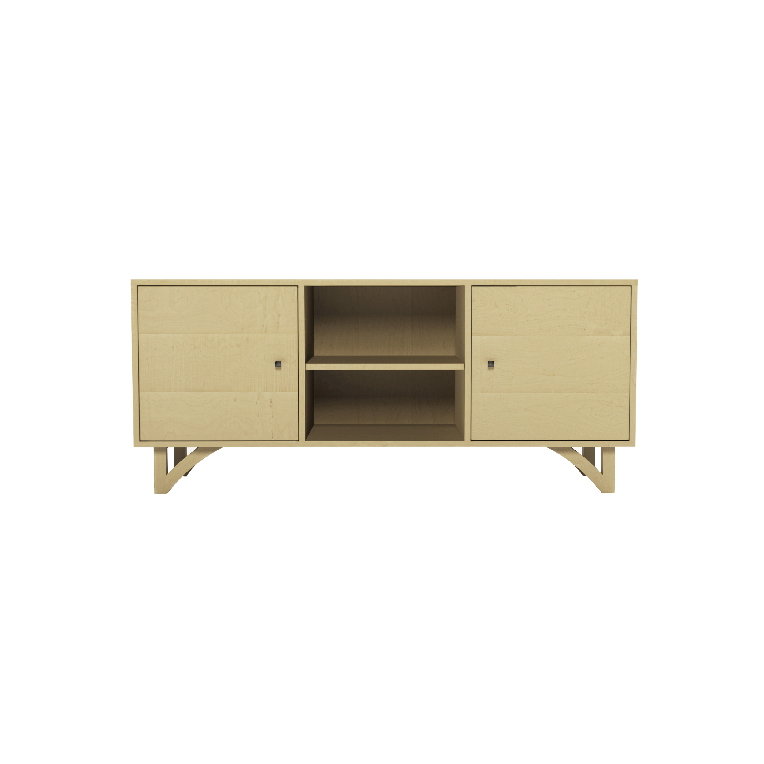 Series 454 Media Cabinet With Two Doors At 60″ In Width