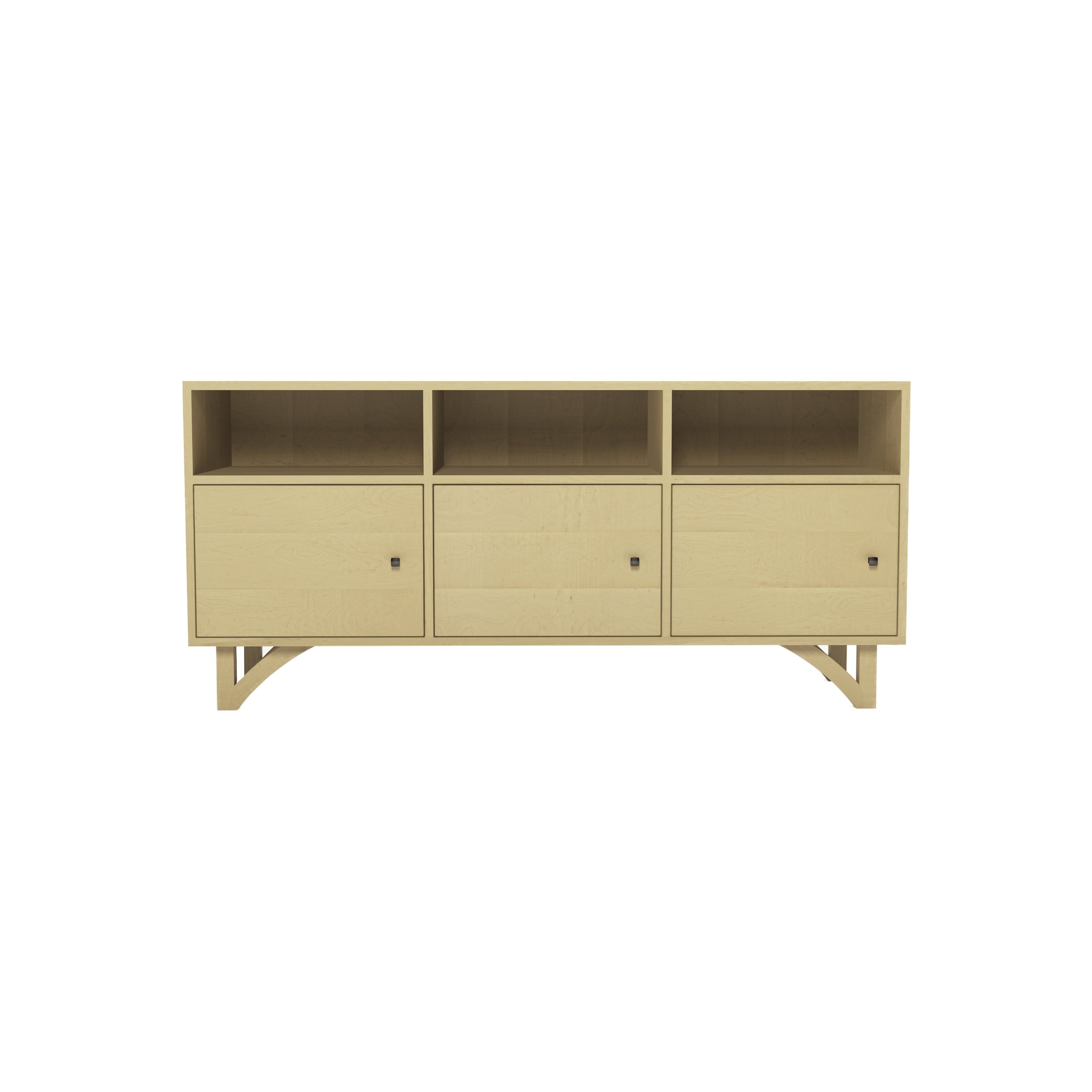 Series 454 Media Cabinet With Three Doors At 60″ In Width