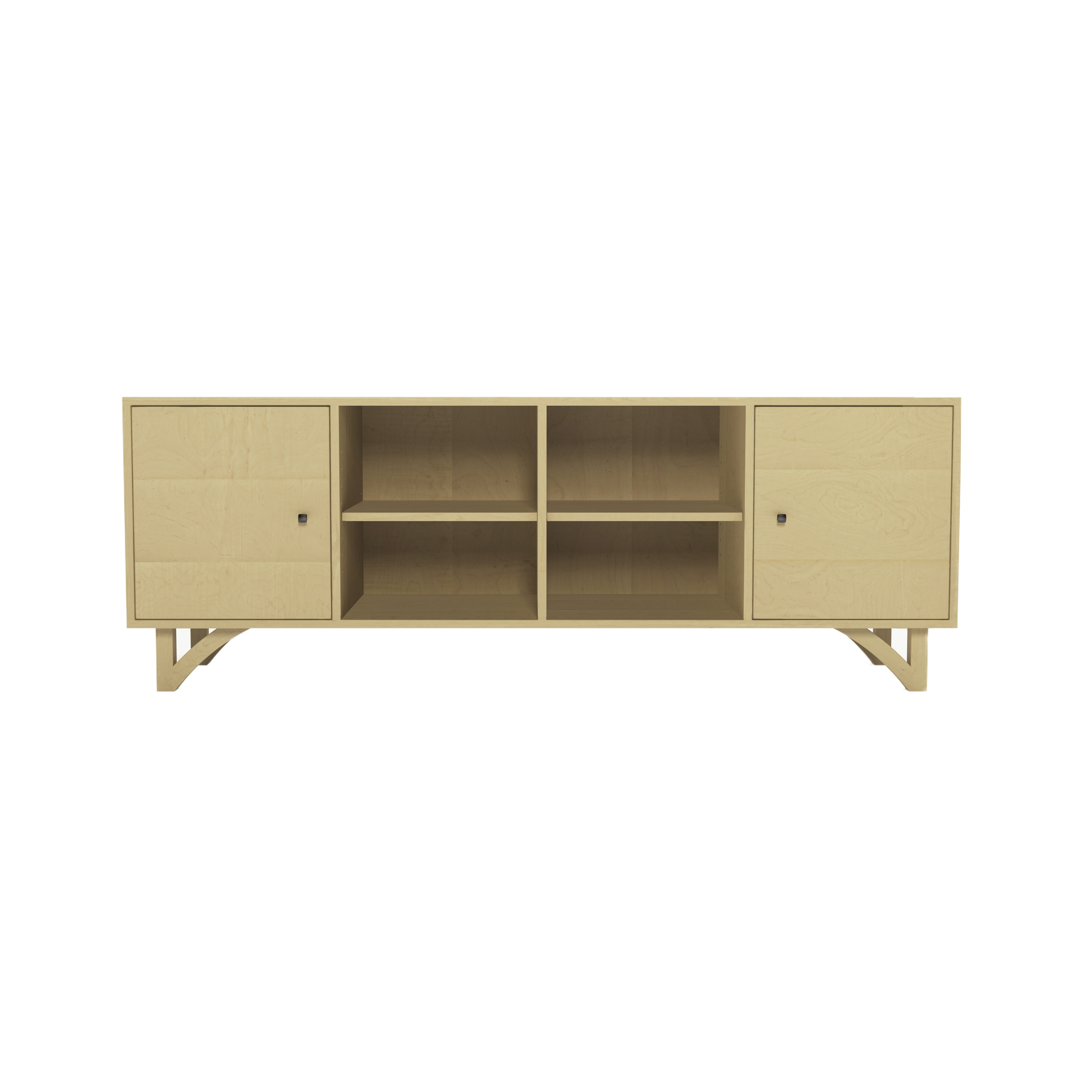 Series 454 Media Cabinet With Two Doors At 72″ In Width