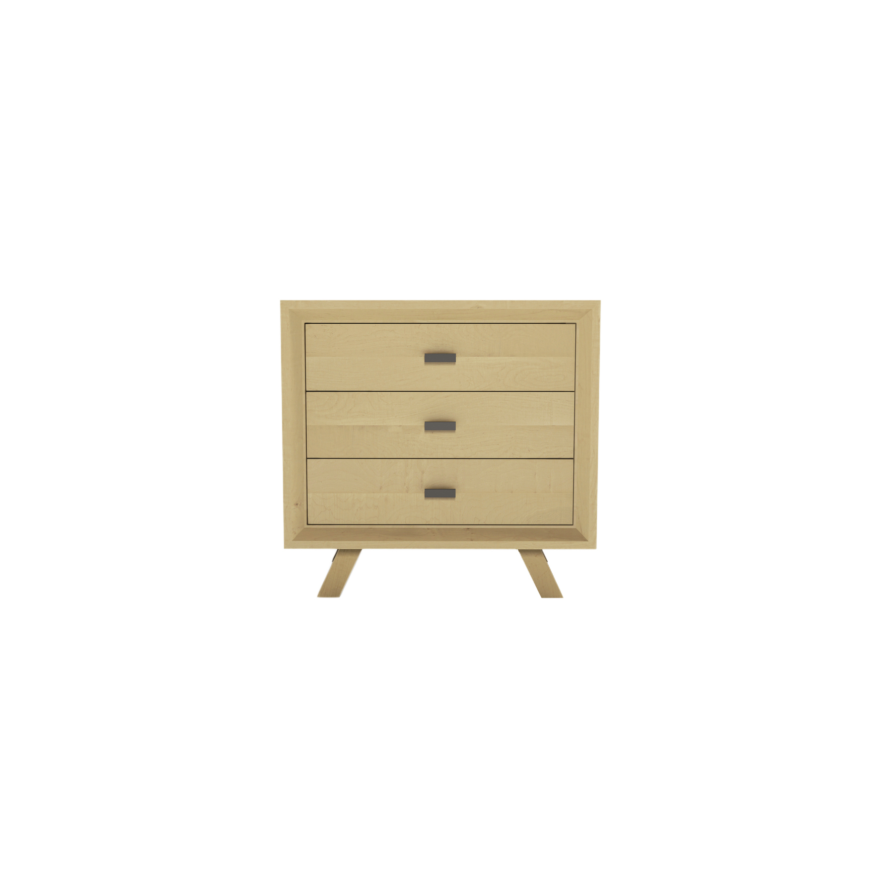 Series 555 Bedside Table With Three Drawers