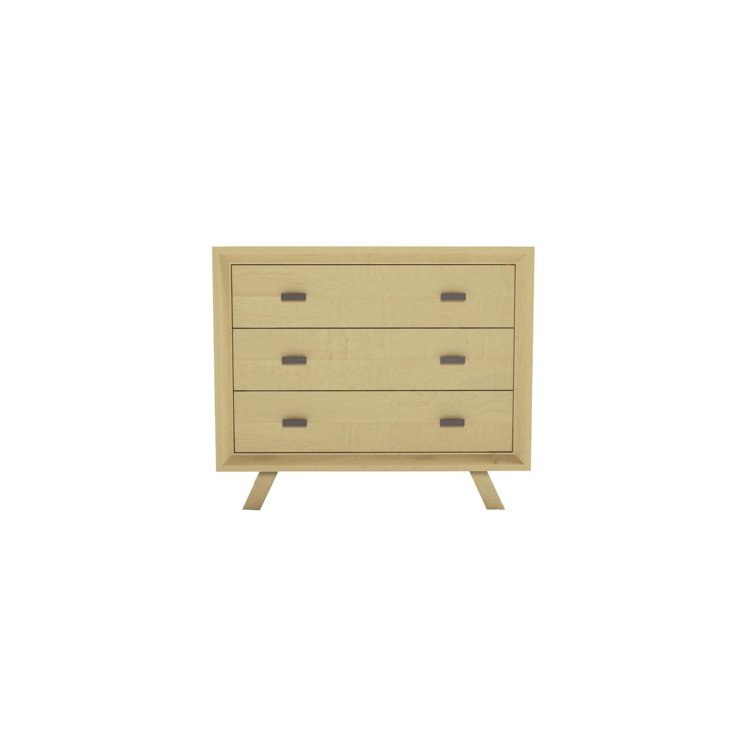 Series 555 Dresser With Three Drawers At 36″ In Width