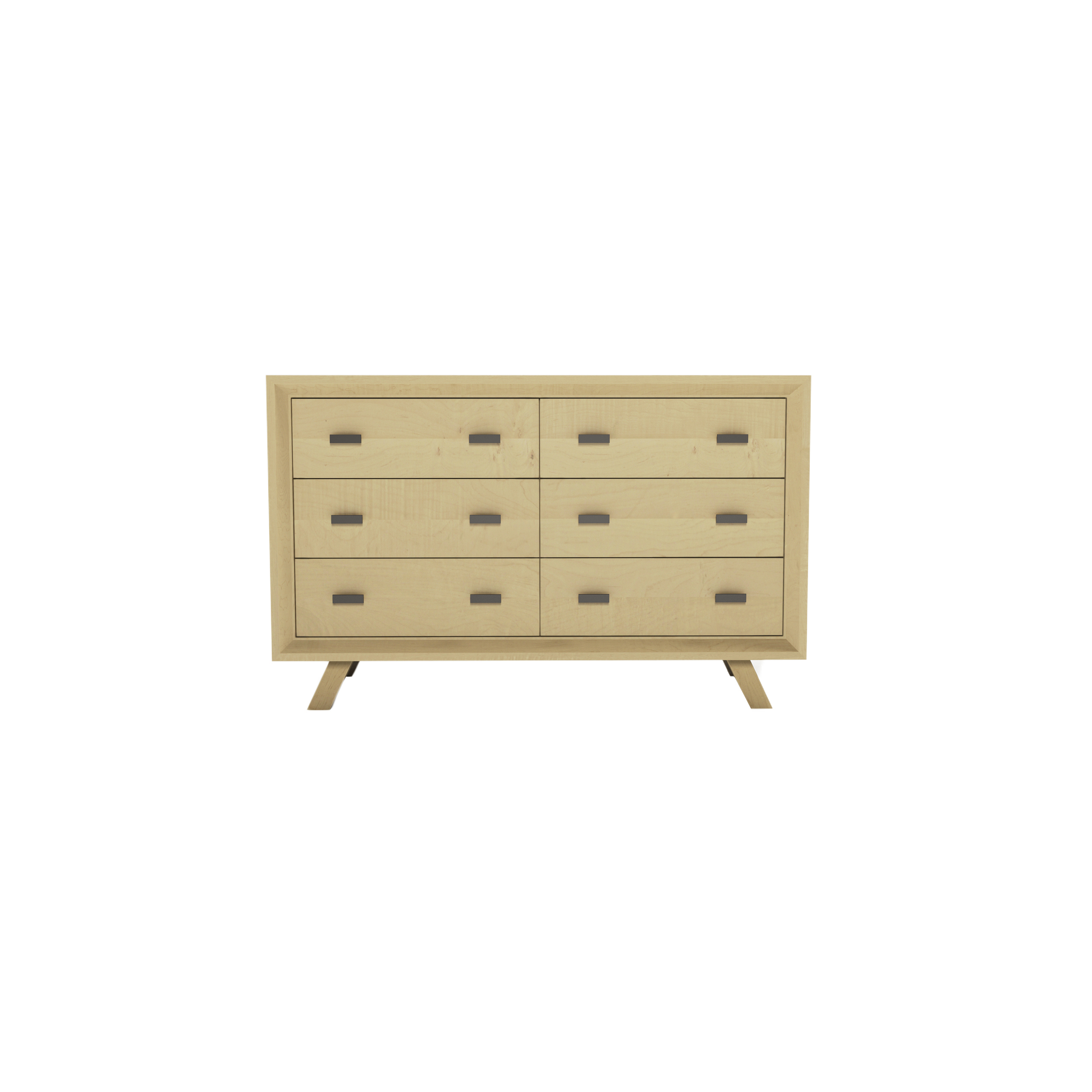 Series 555 Dresser With Six Drawers At 48″ In Width